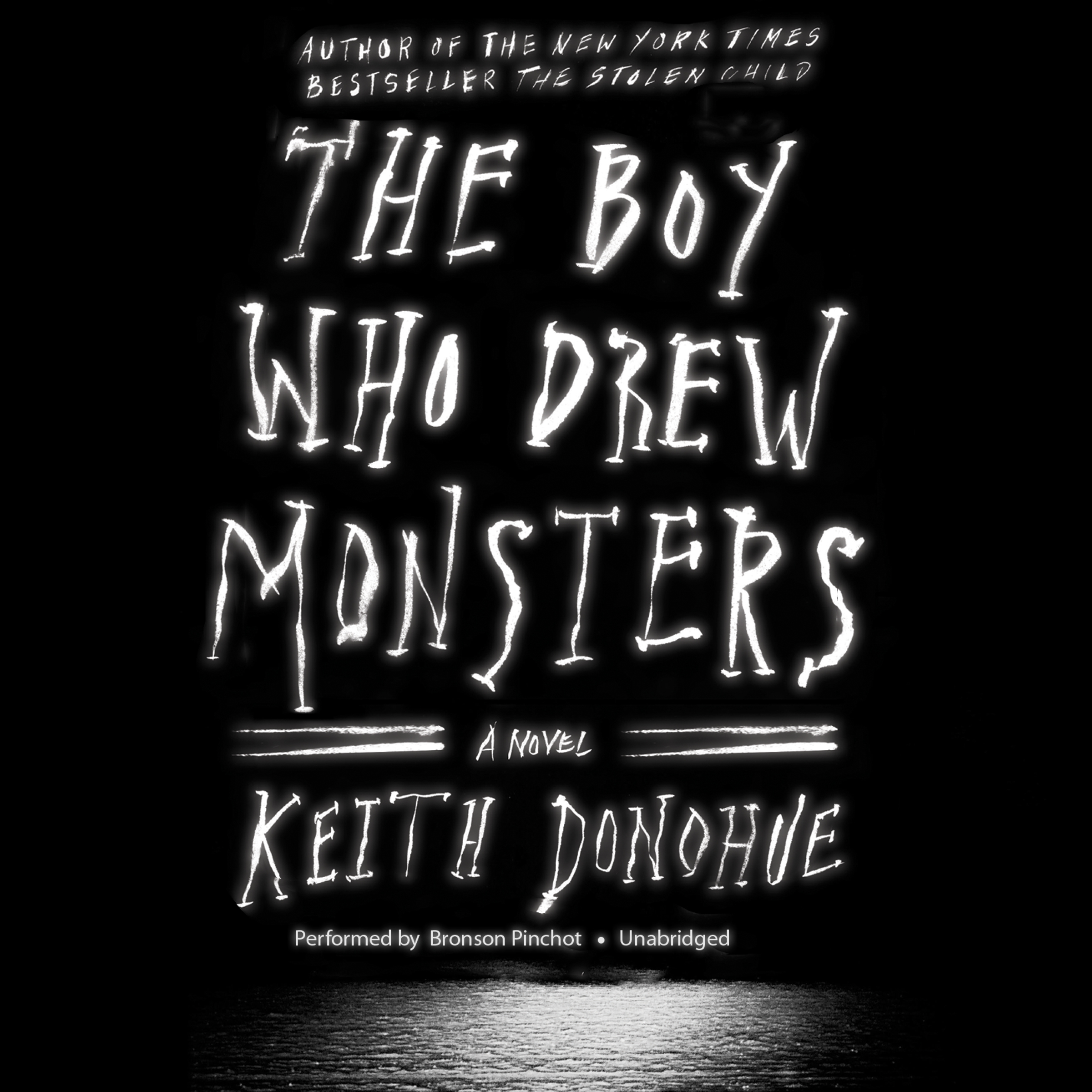 Printable The Boy Who Drew Monsters: A Novel Audiobook Cover Art