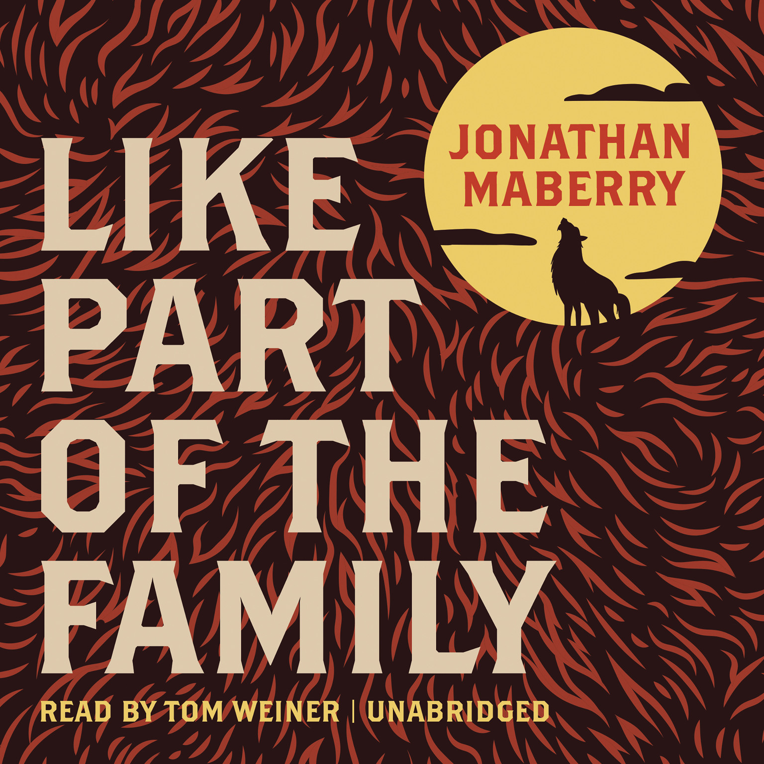 Printable Like Part of the Family Audiobook Cover Art