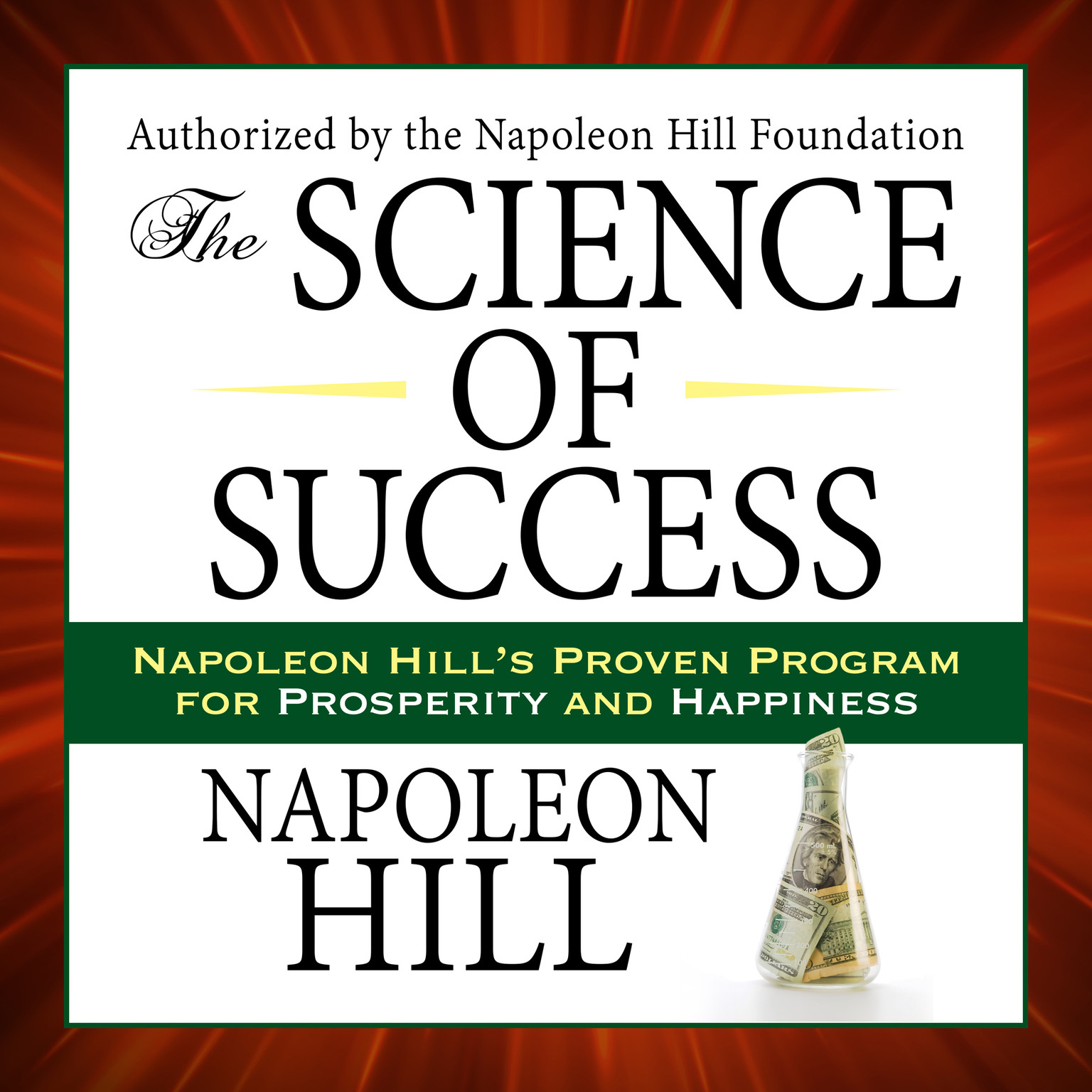 Printable The Science of Success: Napoleon Hill's Proven Program for Prosperity and Happiness Audiobook Cover Art