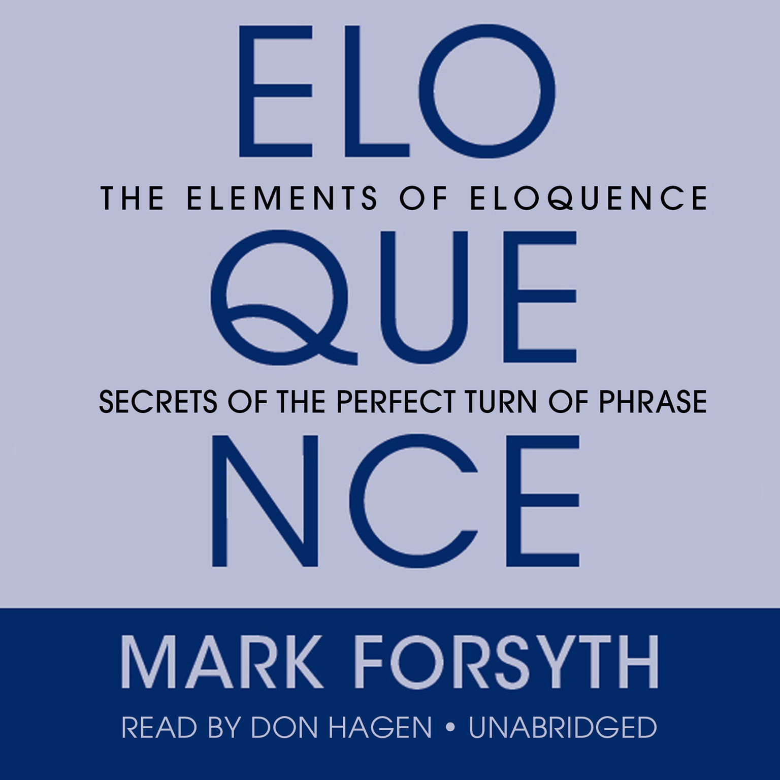Printable The Elements of Eloquence: Secrets of the Perfect Turn of Phrase Audiobook Cover Art