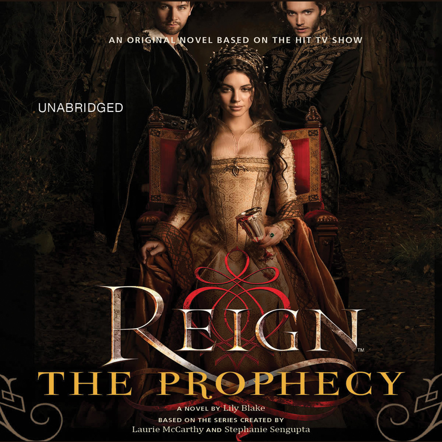 Printable Reign: The Prophecy Audiobook Cover Art