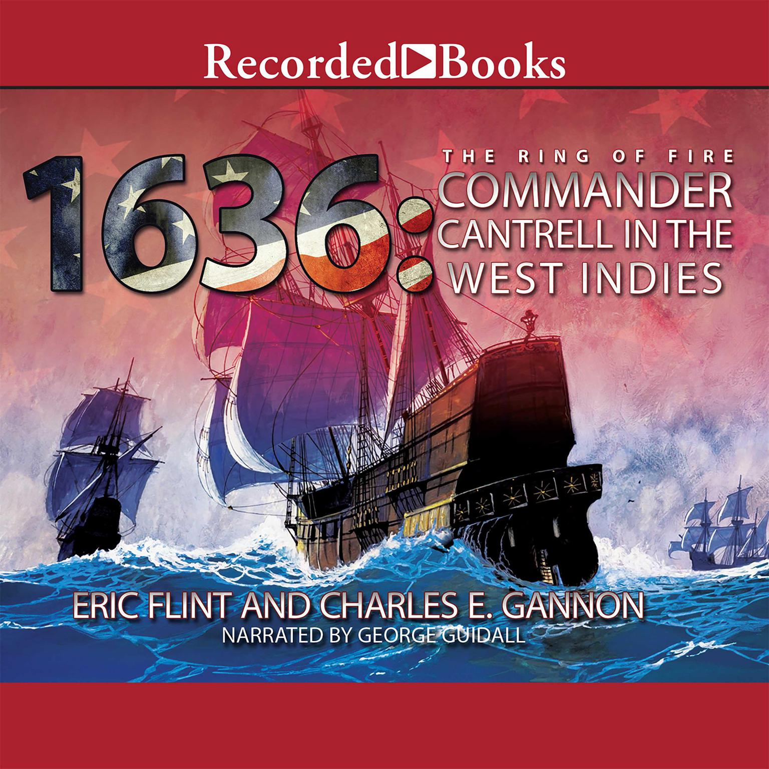 Printable 1636: Commander Cantrell in the West Indies Audiobook Cover Art