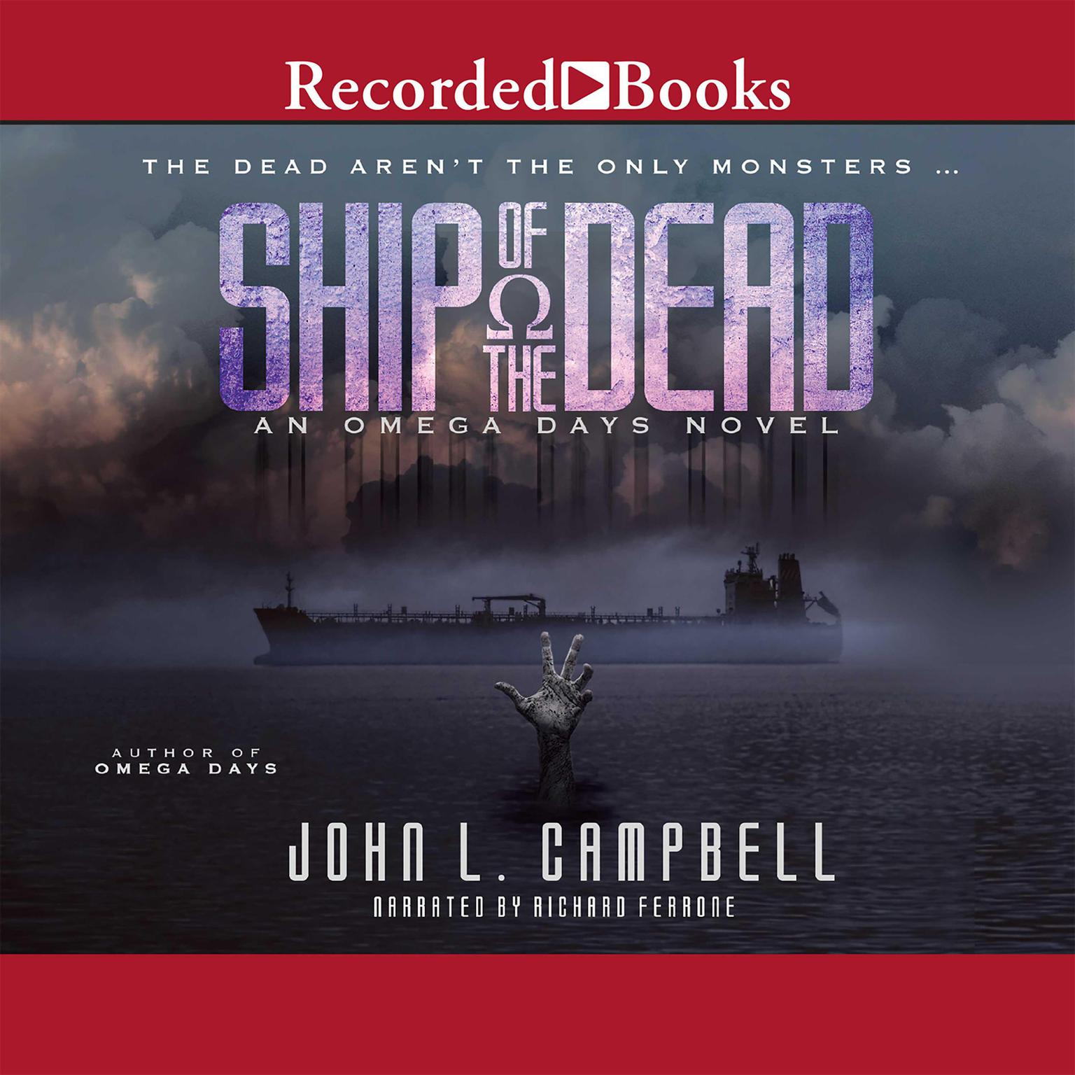 Printable Ship of the Dead: An Omega Days Novel Audiobook Cover Art