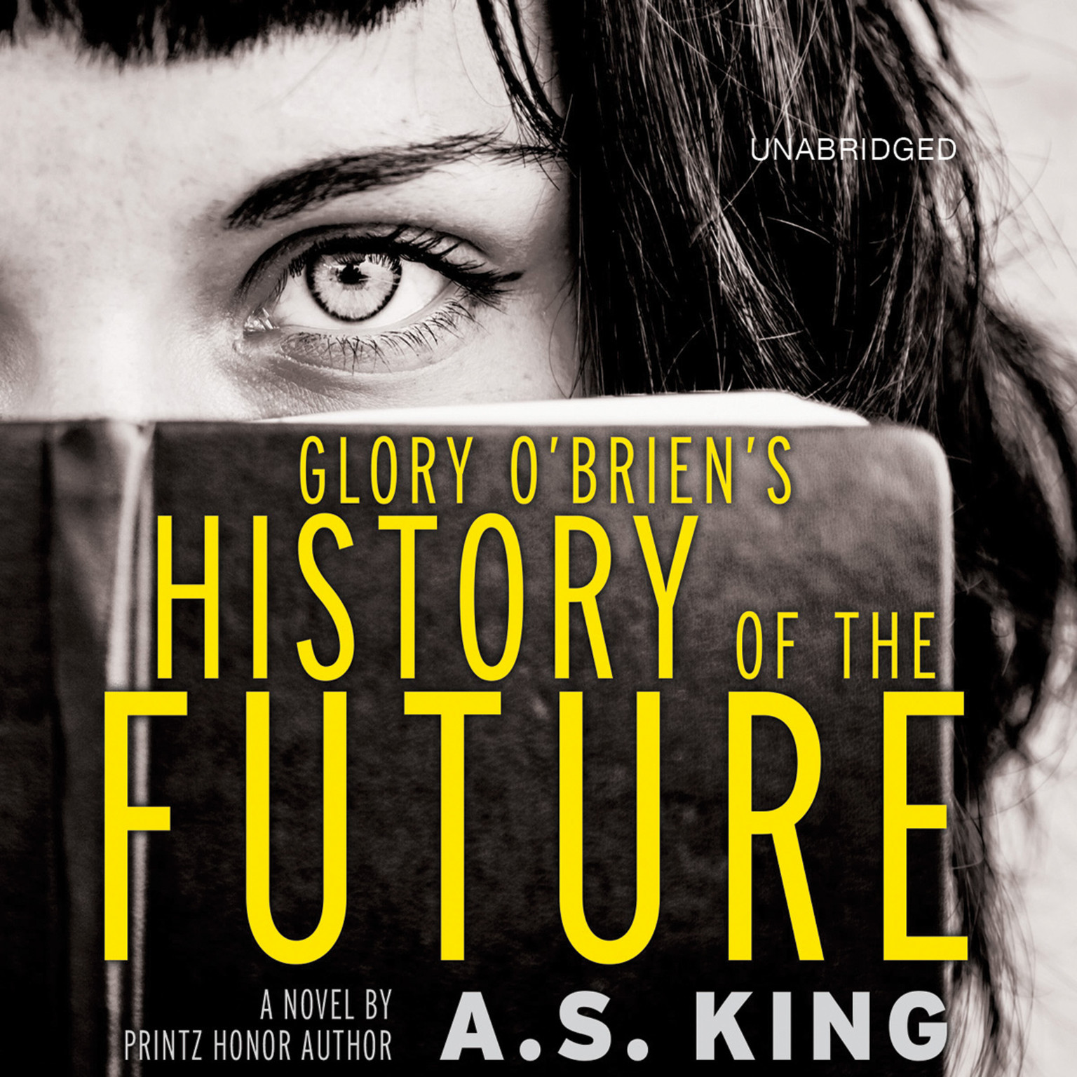 Printable Glory O'Brien's History of the Future Audiobook Cover Art