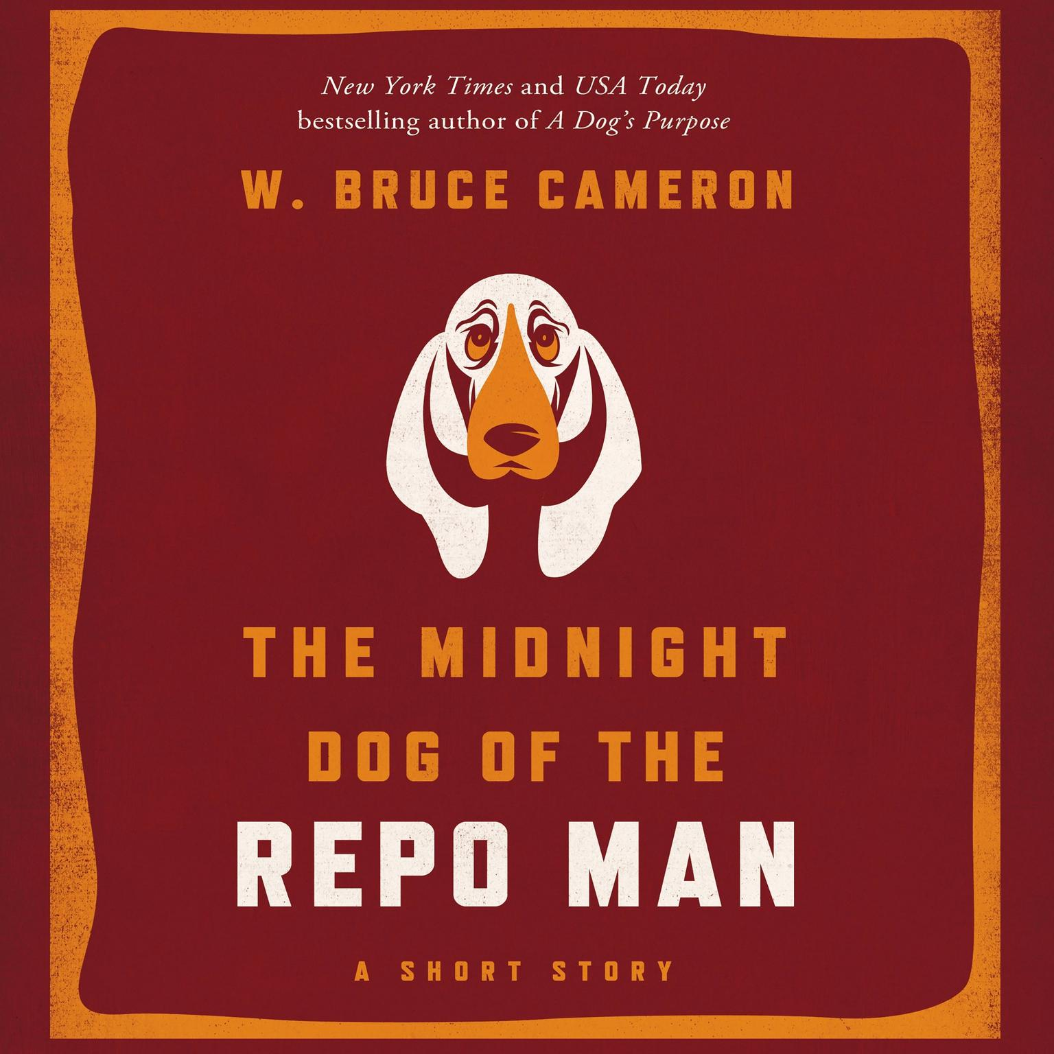 Printable The Midnight Dog of the Repo Man Audiobook Cover Art