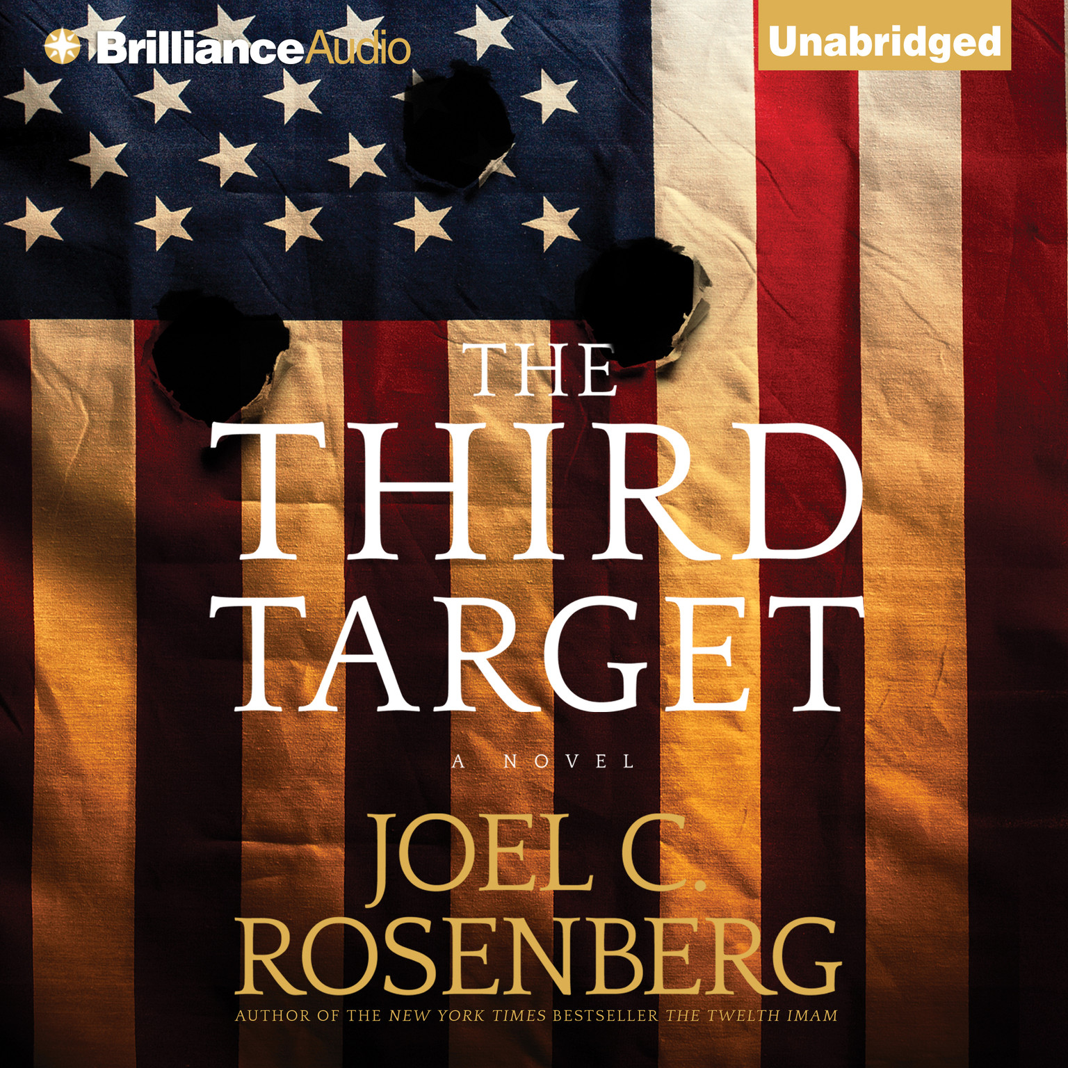 Printable The Third Target Audiobook Cover Art