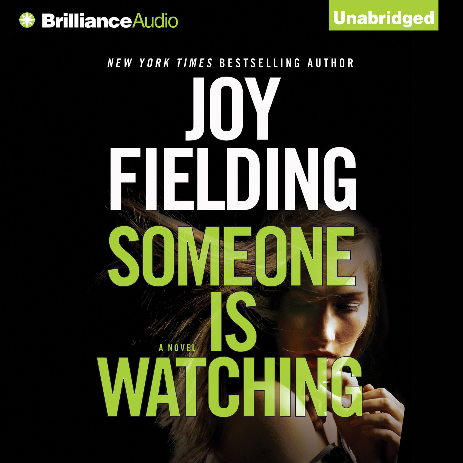 Printable Someone is Watching Audiobook Cover Art