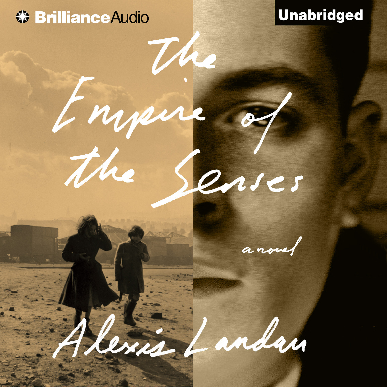 Printable The Empire of the Senses: A Novel Audiobook Cover Art