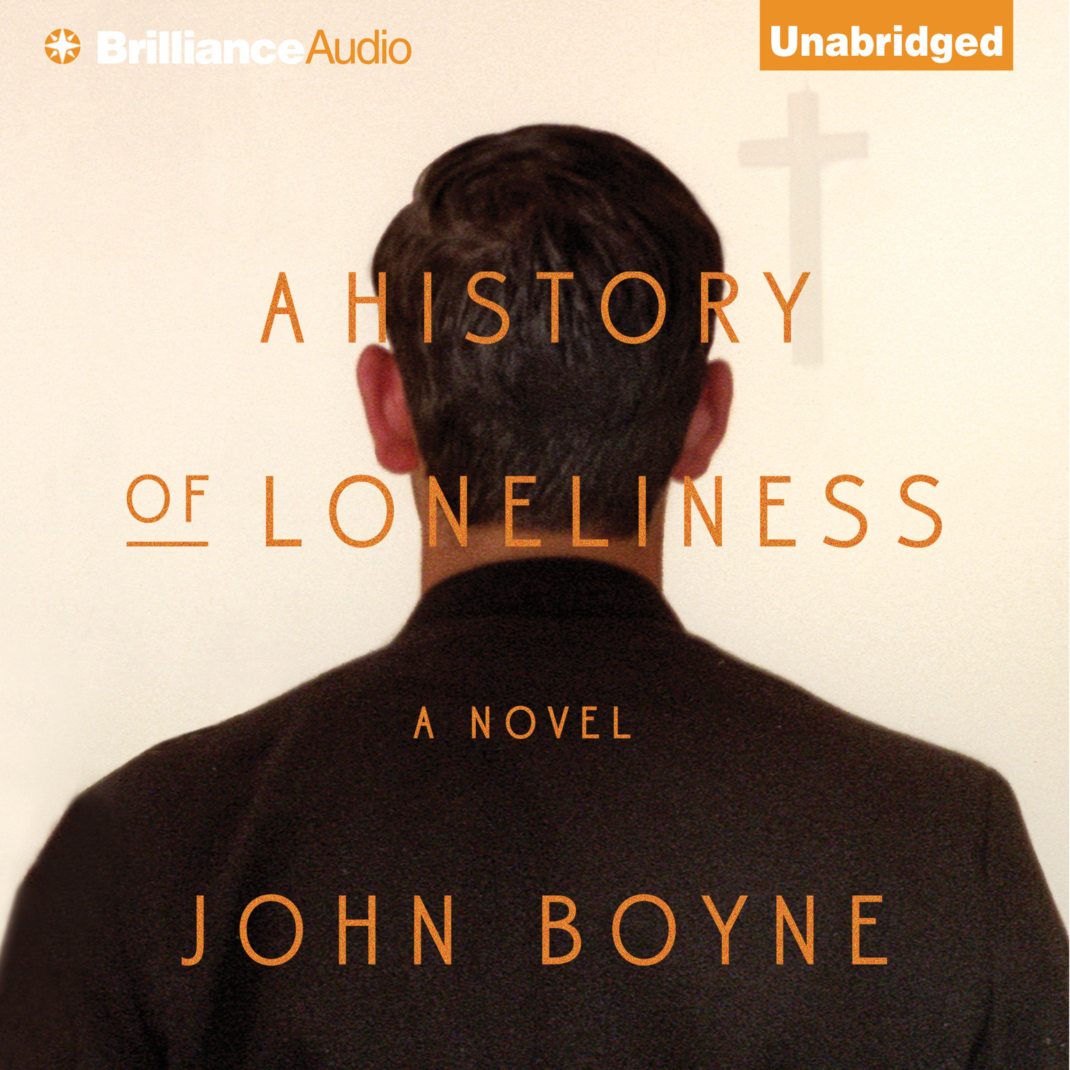 Printable A History of Loneliness Audiobook Cover Art