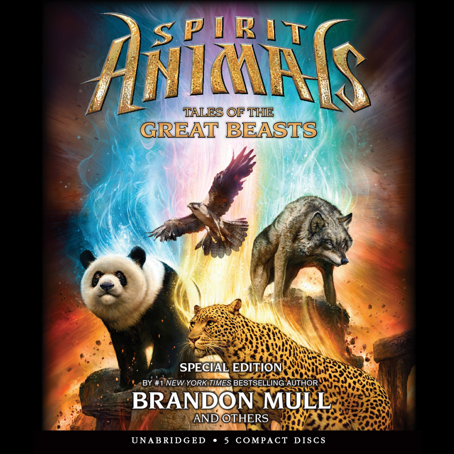 Printable Tales of the Great Beasts: Special Edition Audiobook Cover Art