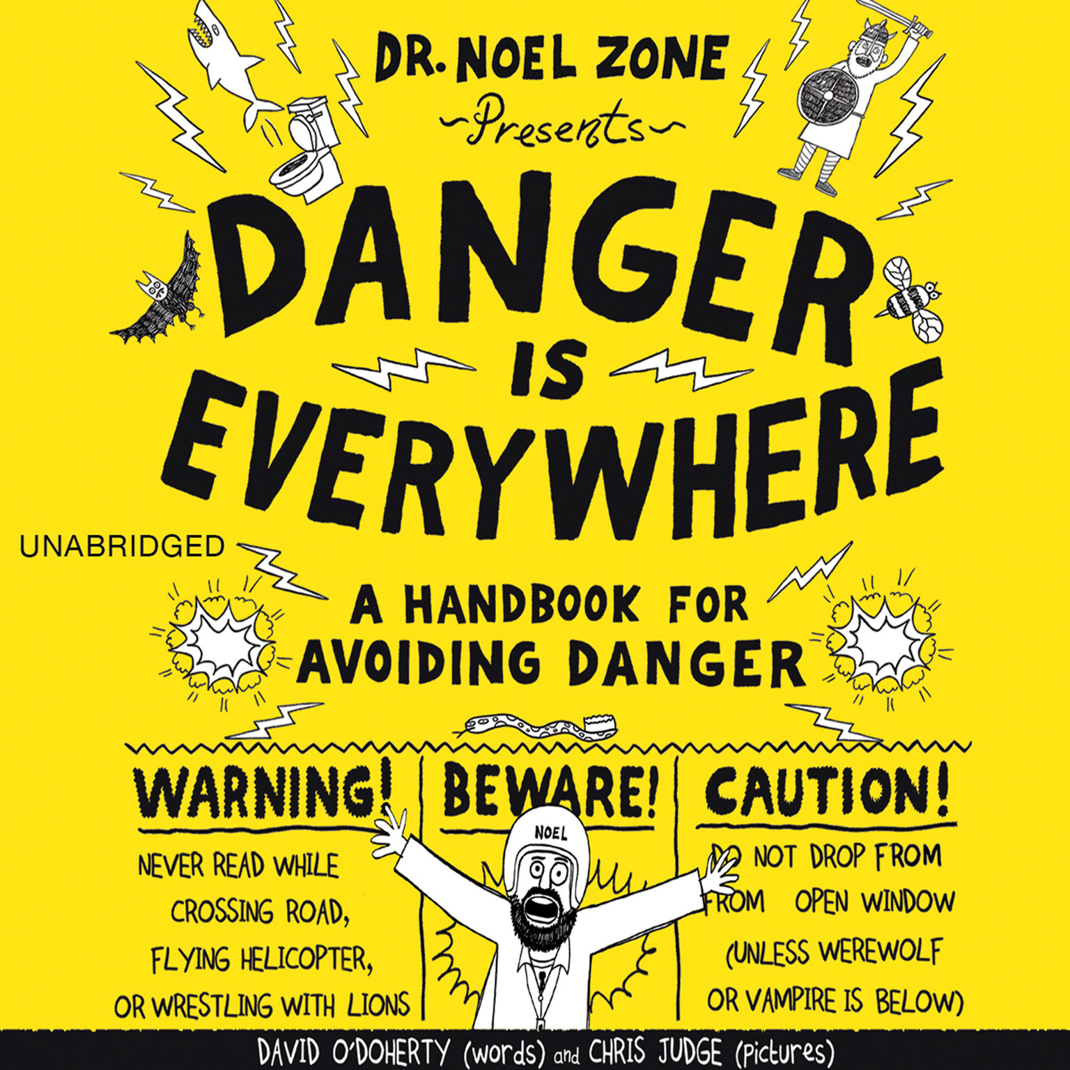 Printable Danger Is Everywhere: A Handbook for Avoiding Danger Audiobook Cover Art