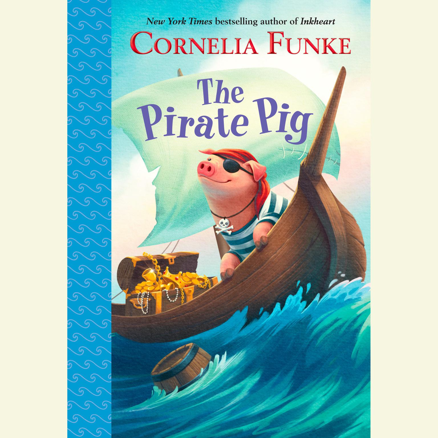 Printable The Pirate Pig Audiobook Cover Art