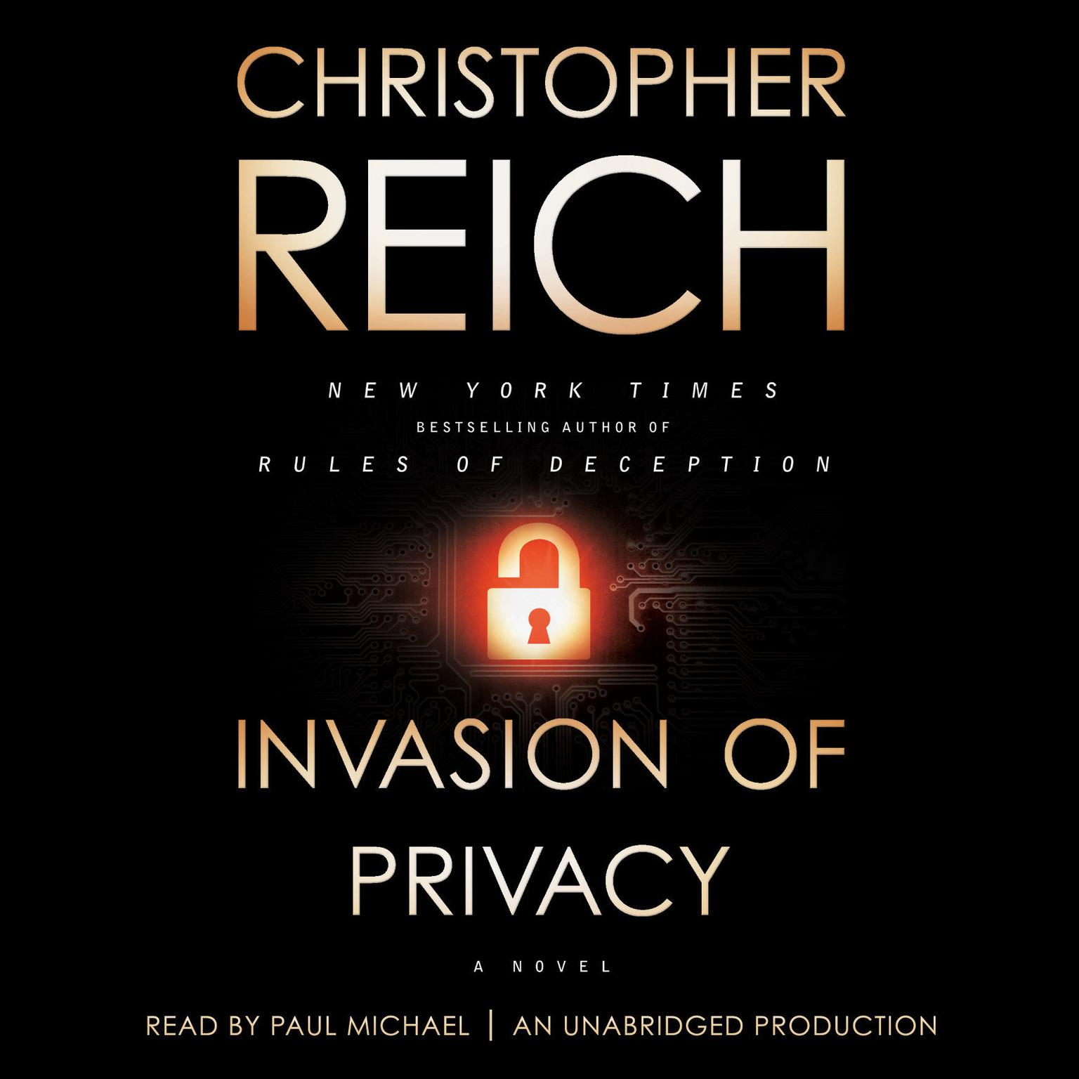 Printable Invasion of Privacy: A Novel Audiobook Cover Art