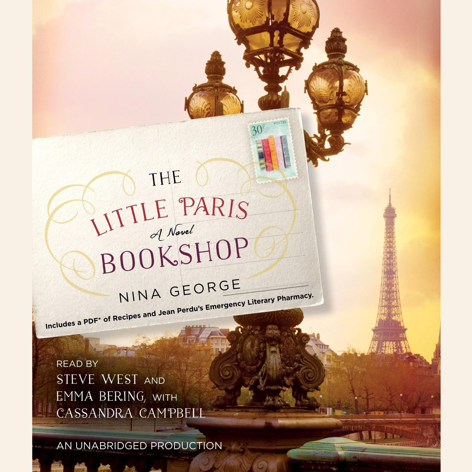 Printable The Little Paris Bookshop: A Novel Audiobook Cover Art