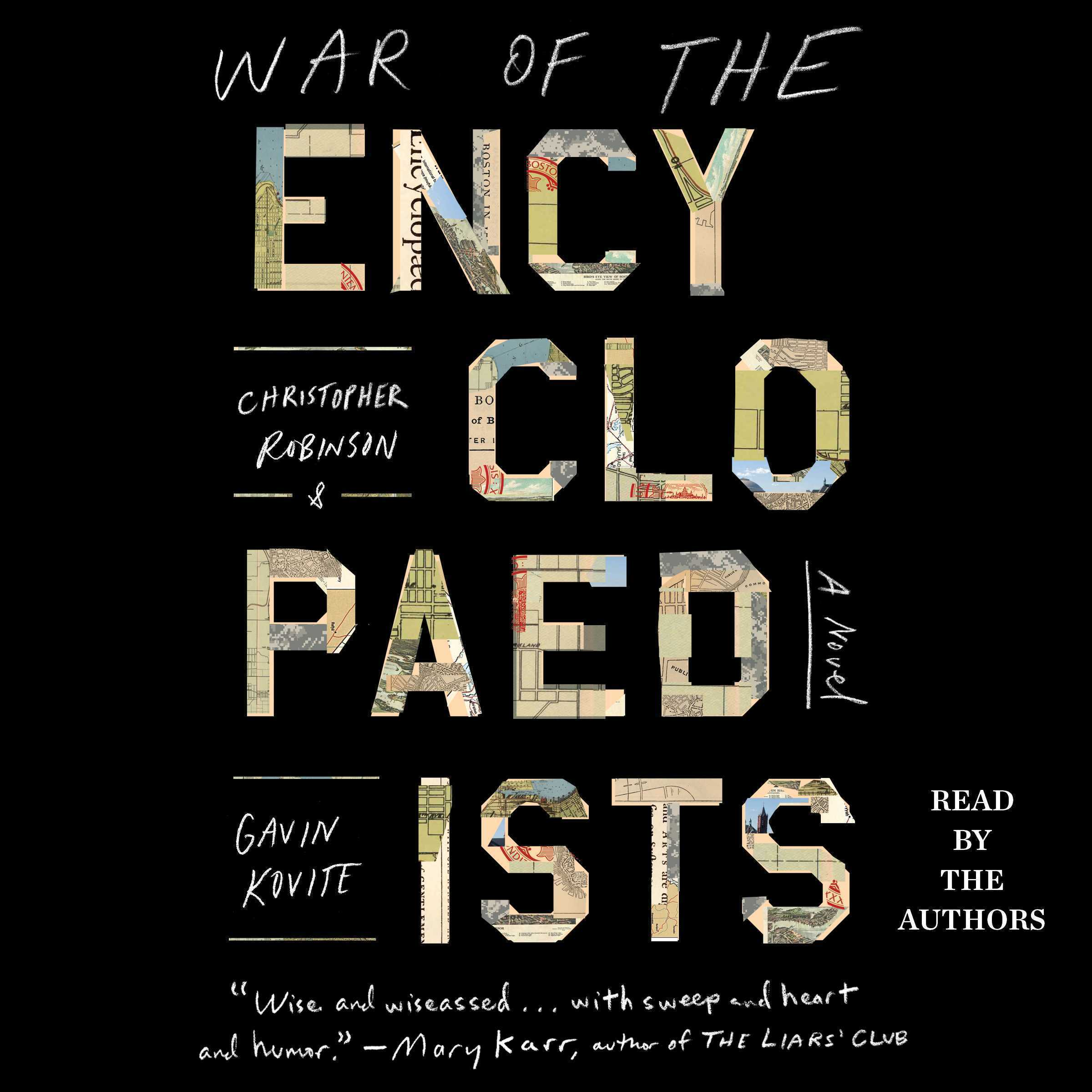 Printable War of the Encyclopaedists: A Novel Audiobook Cover Art