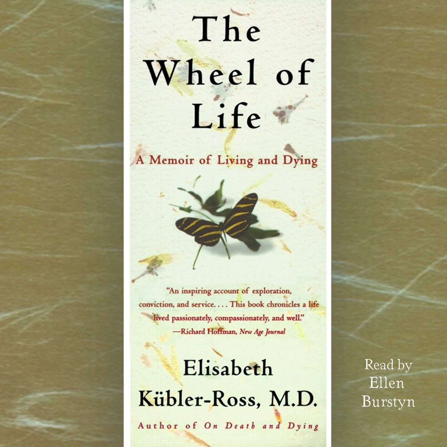 Printable The Wheel of Life: A Memoir of Living and Dying Audiobook Cover Art