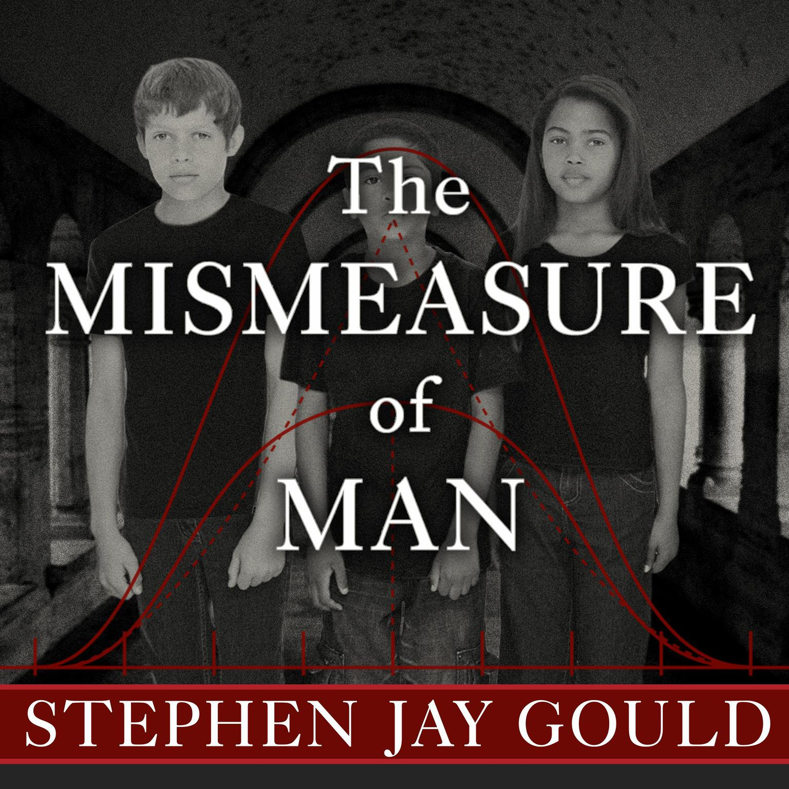 Printable The Mismeasure of Man Audiobook Cover Art