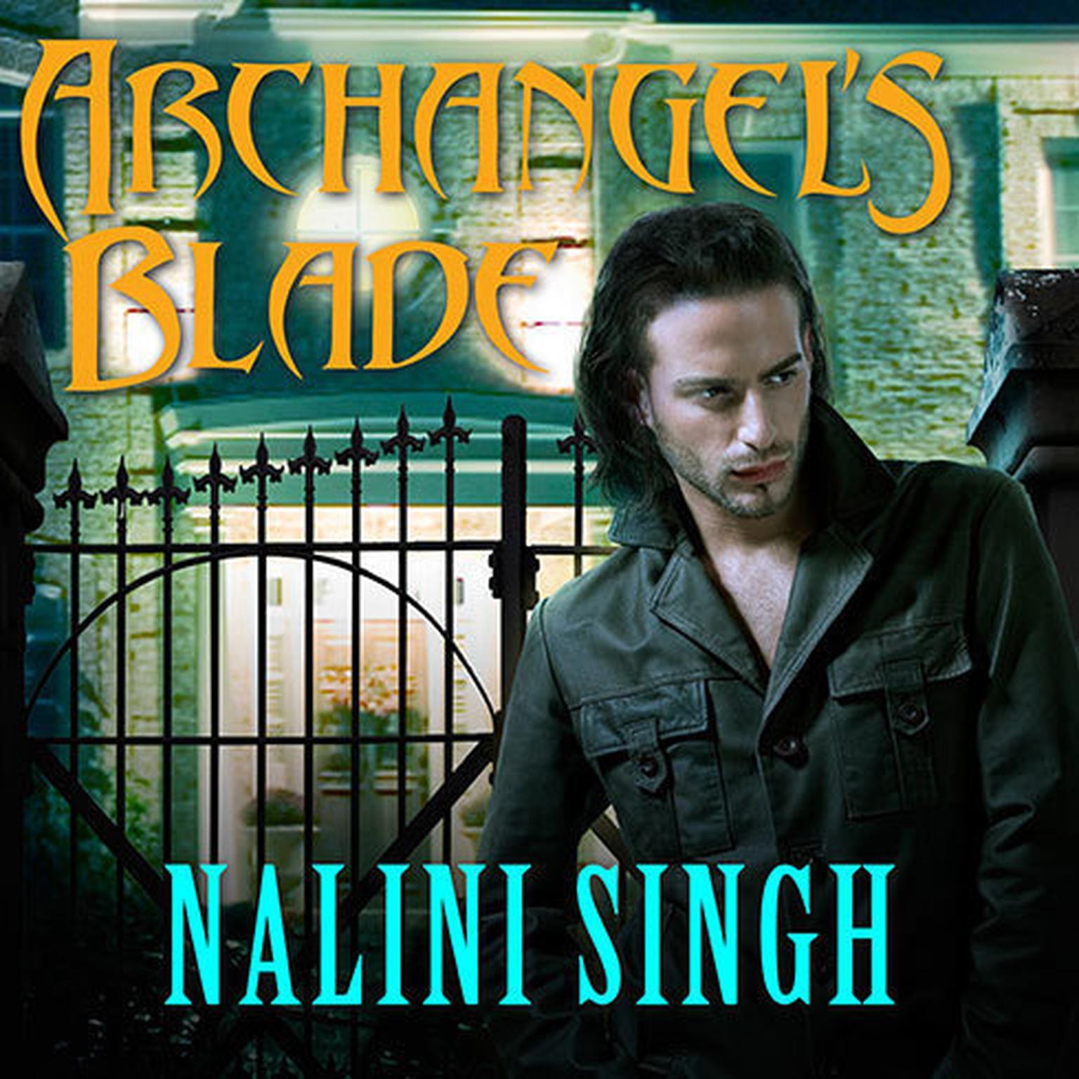 Printable Archangel's Blade Audiobook Cover Art