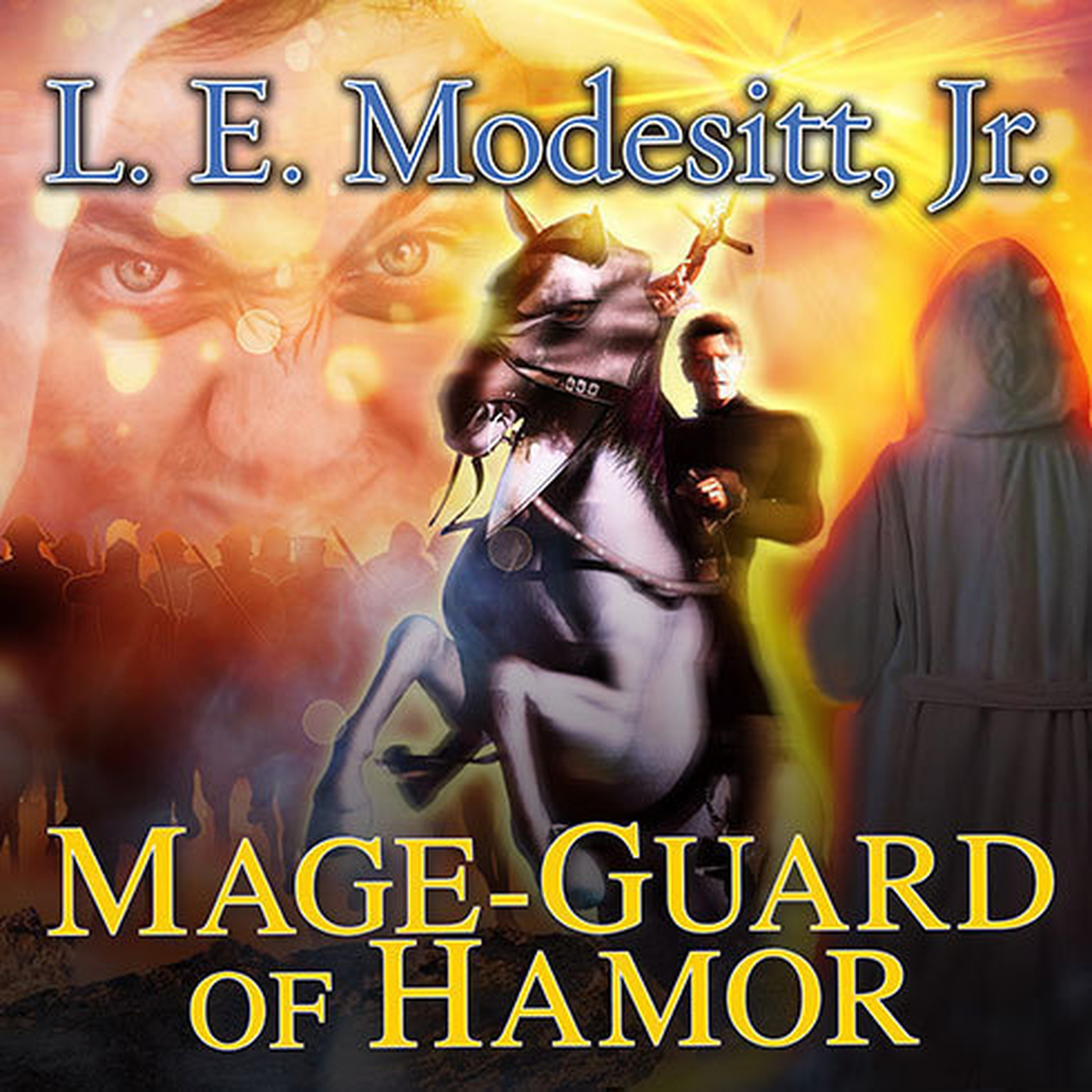 Printable Mage-Guard of Hamor Audiobook Cover Art