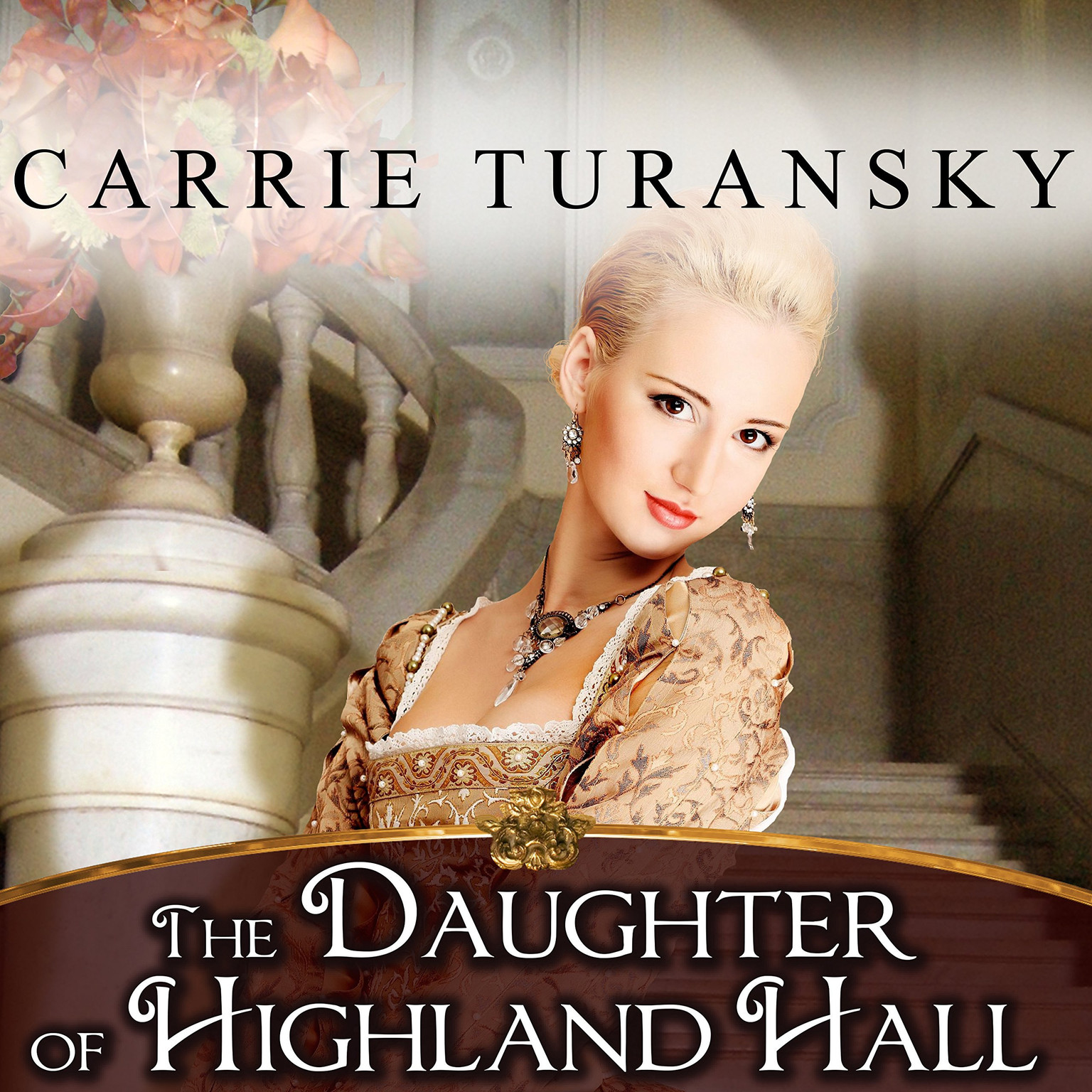 Printable The Daughter of Highland Hall Audiobook Cover Art