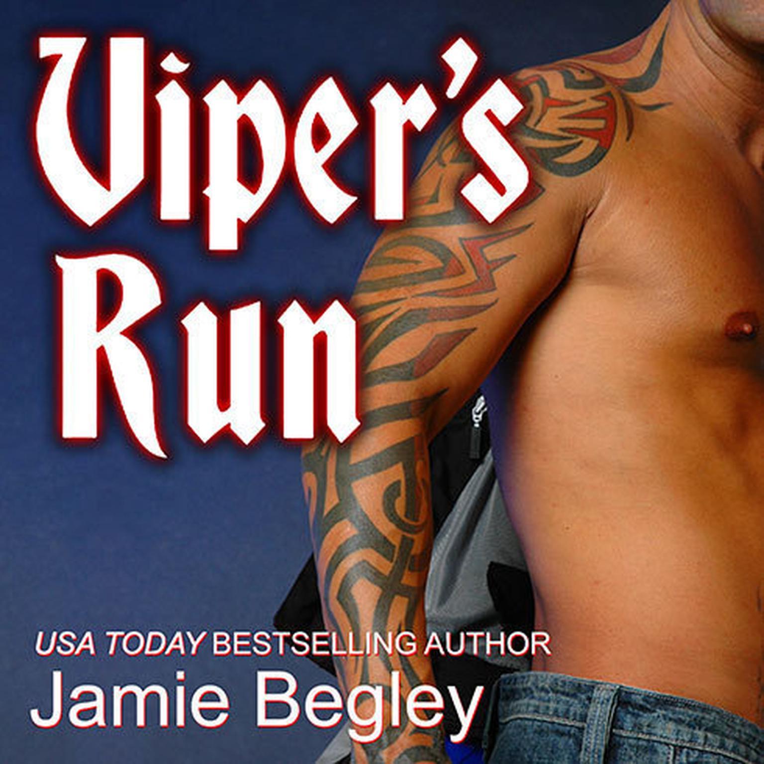 Printable Viper's Run Audiobook Cover Art