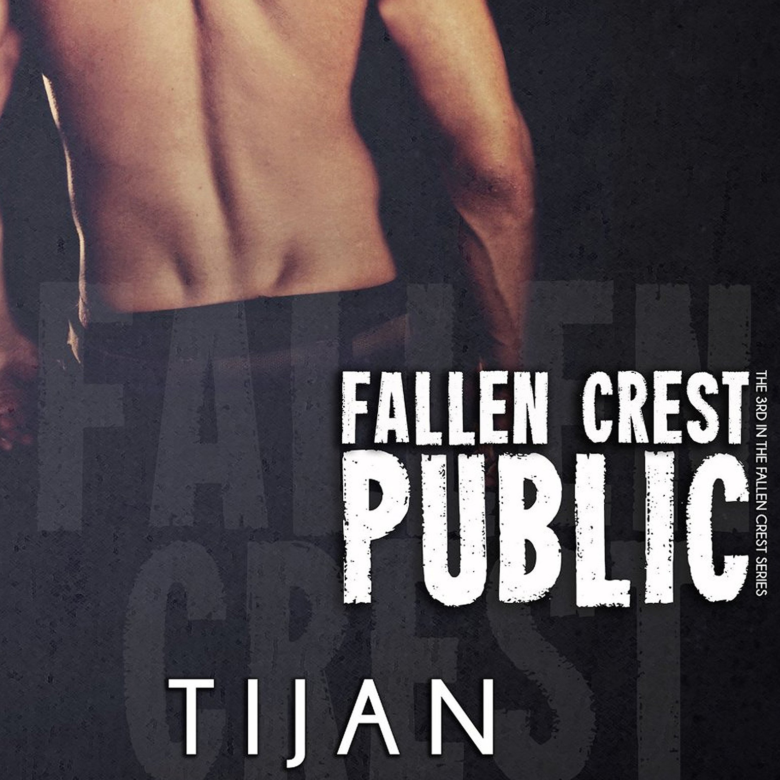 Printable Fallen Crest Public Audiobook Cover Art