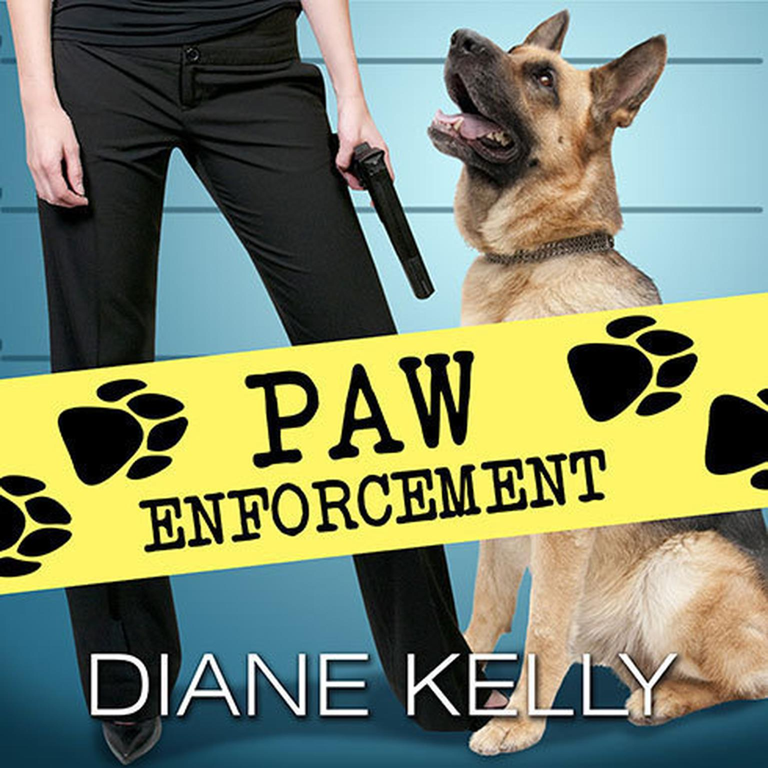 Printable Paw Enforcement Audiobook Cover Art