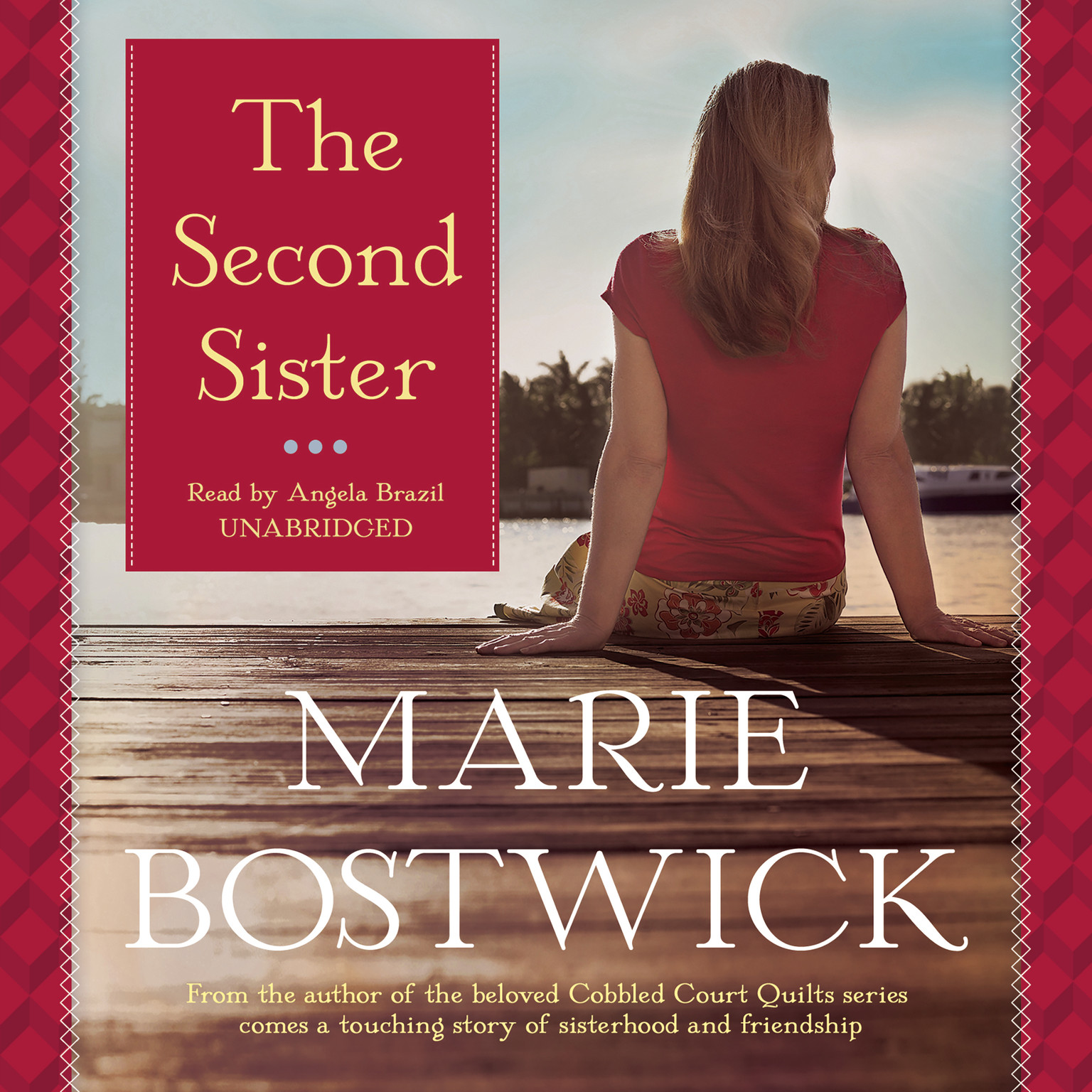 Printable The Second Sister Audiobook Cover Art
