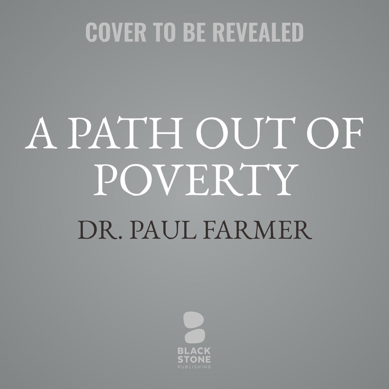 Printable A Path out of Poverty Audiobook Cover Art