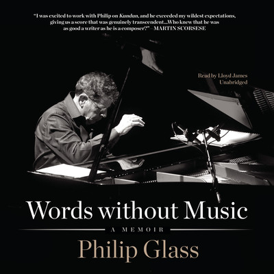 Words without Music: A Memoir Audiobook, by