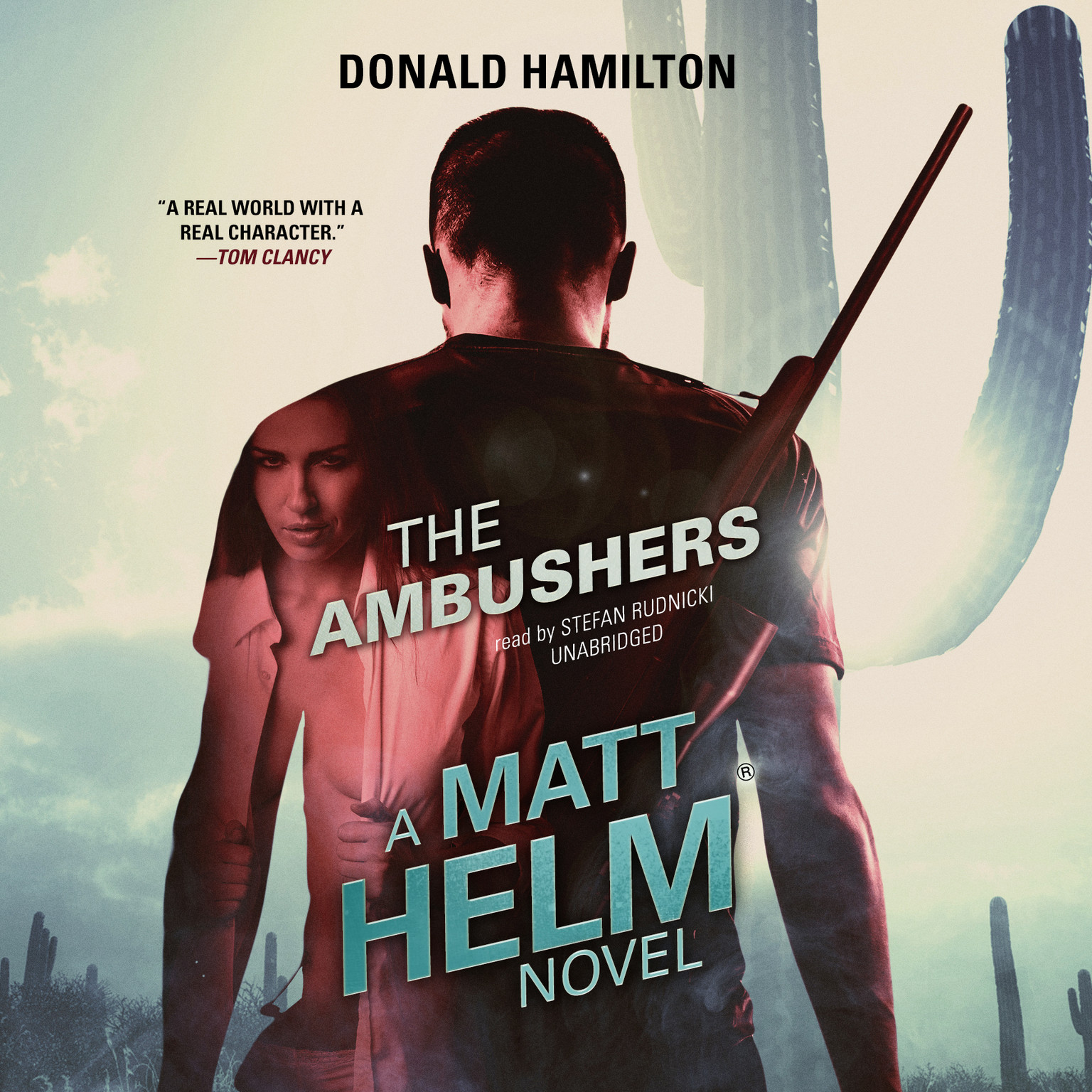 Printable The Ambushers : A Matt Helm Novel Audiobook Cover Art