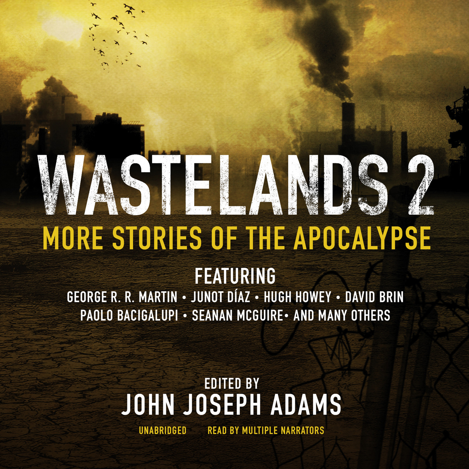 Printable Wastelands 2 : More Stories of the Apocalypse Audiobook Cover Art