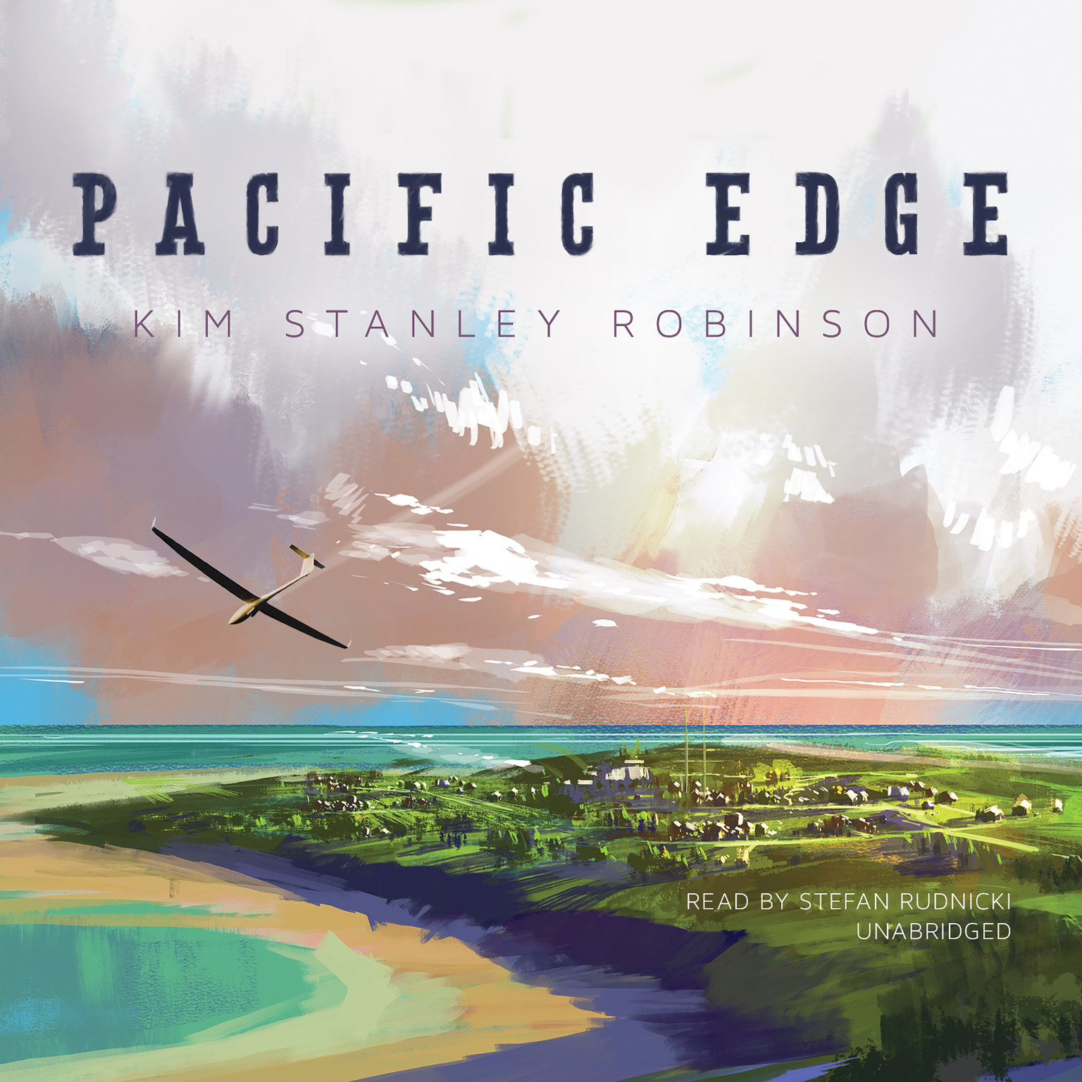Printable Pacific Edge  Audiobook Cover Art