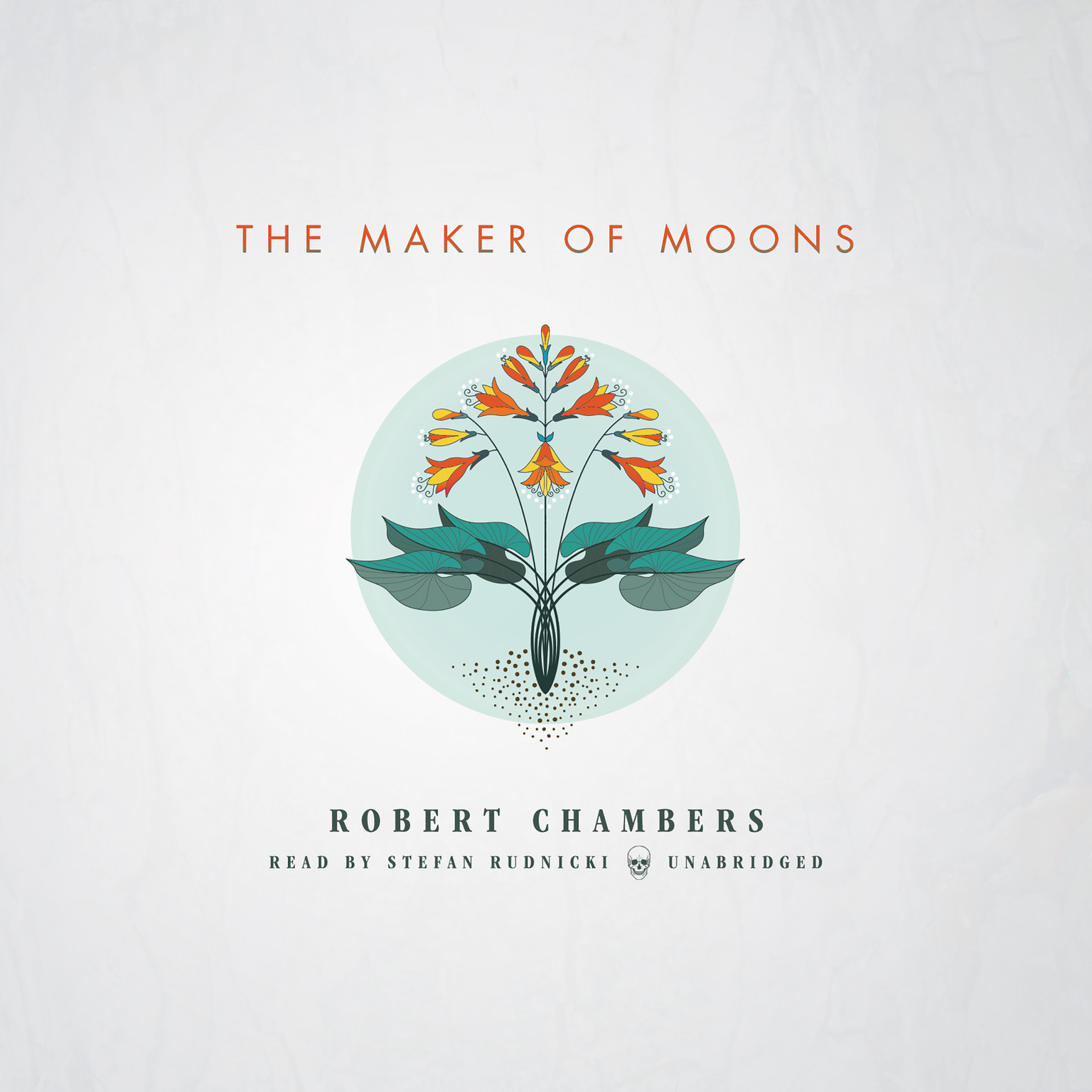 Printable The Maker of Moons  Audiobook Cover Art