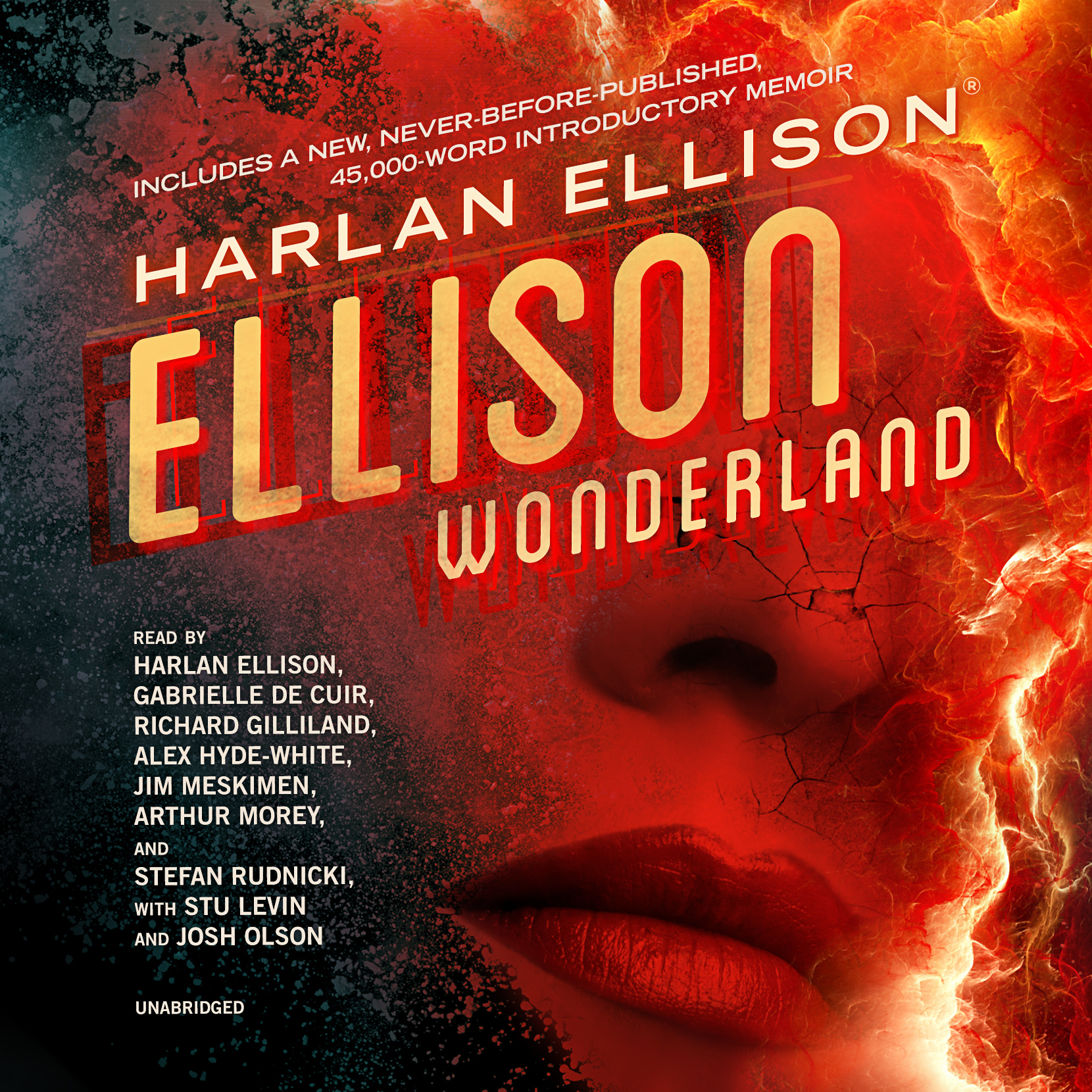 Printable Ellison Wonderland  Audiobook Cover Art