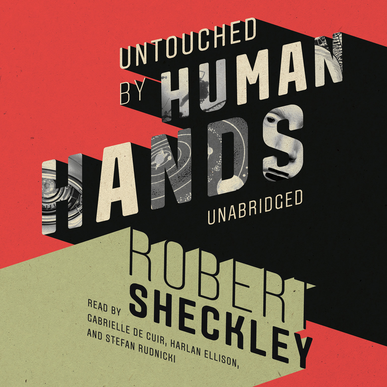 Printable Untouched by Human Hands Audiobook Cover Art