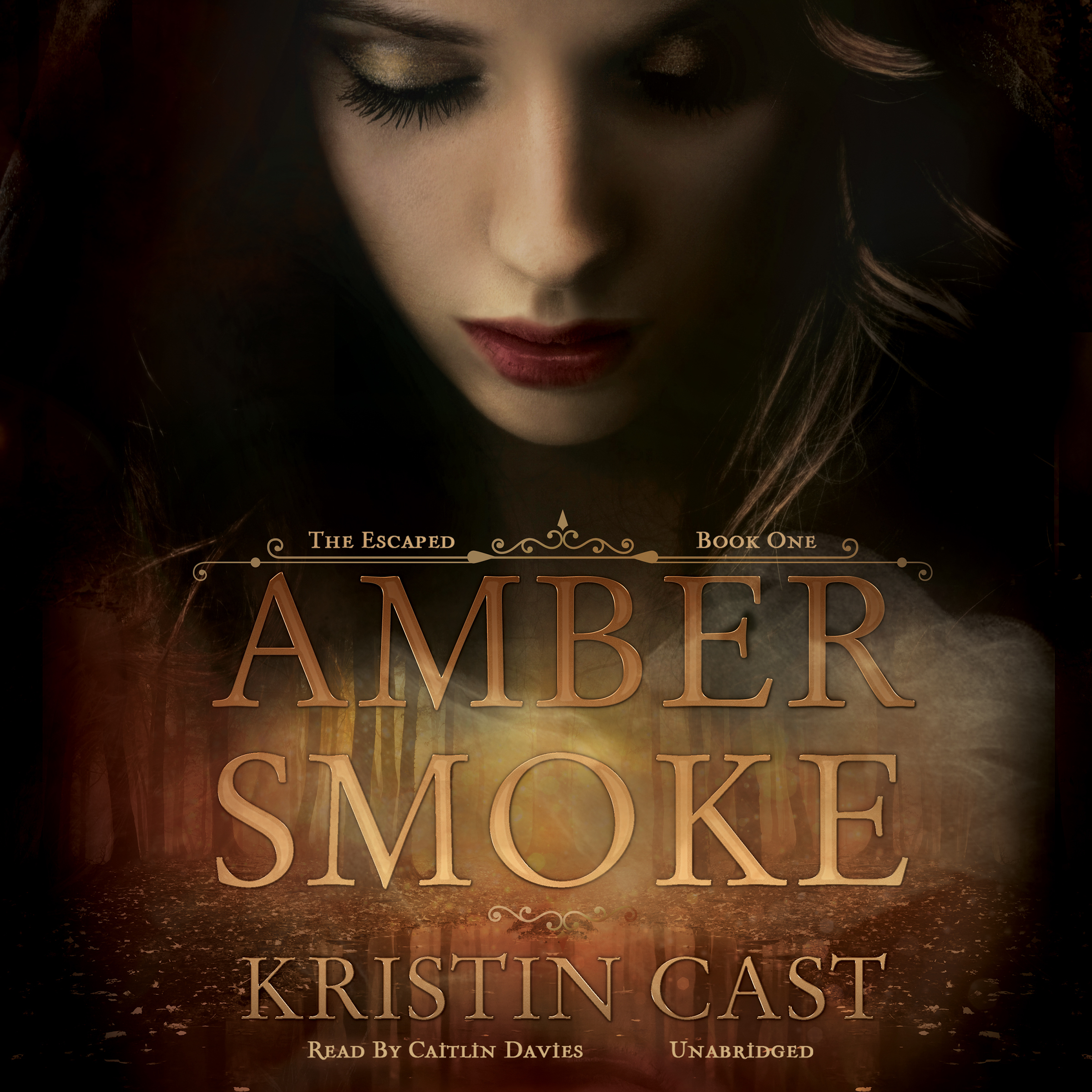 Printable Amber Smoke: The Escaped, Book One Audiobook Cover Art