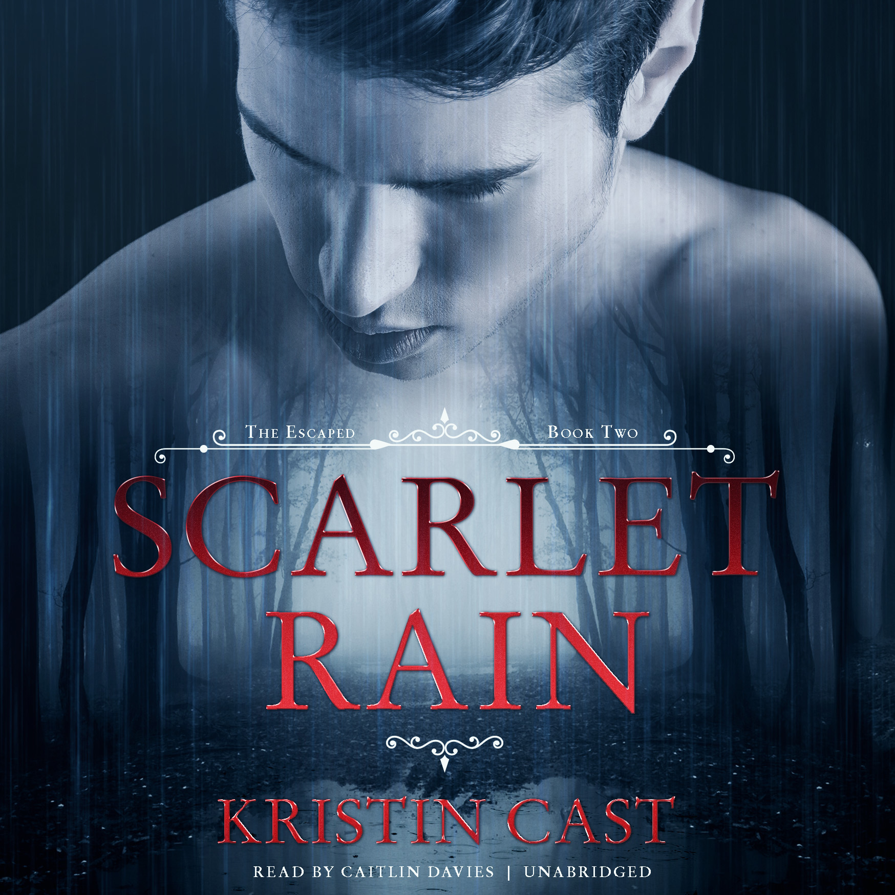 Printable Scarlet Rain: The Escaped, Book Two Audiobook Cover Art