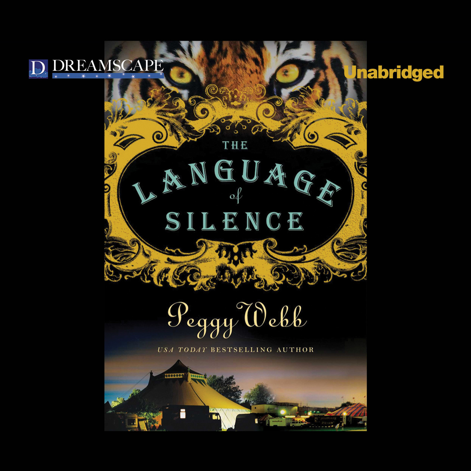 Printable The Language of Silence Audiobook Cover Art