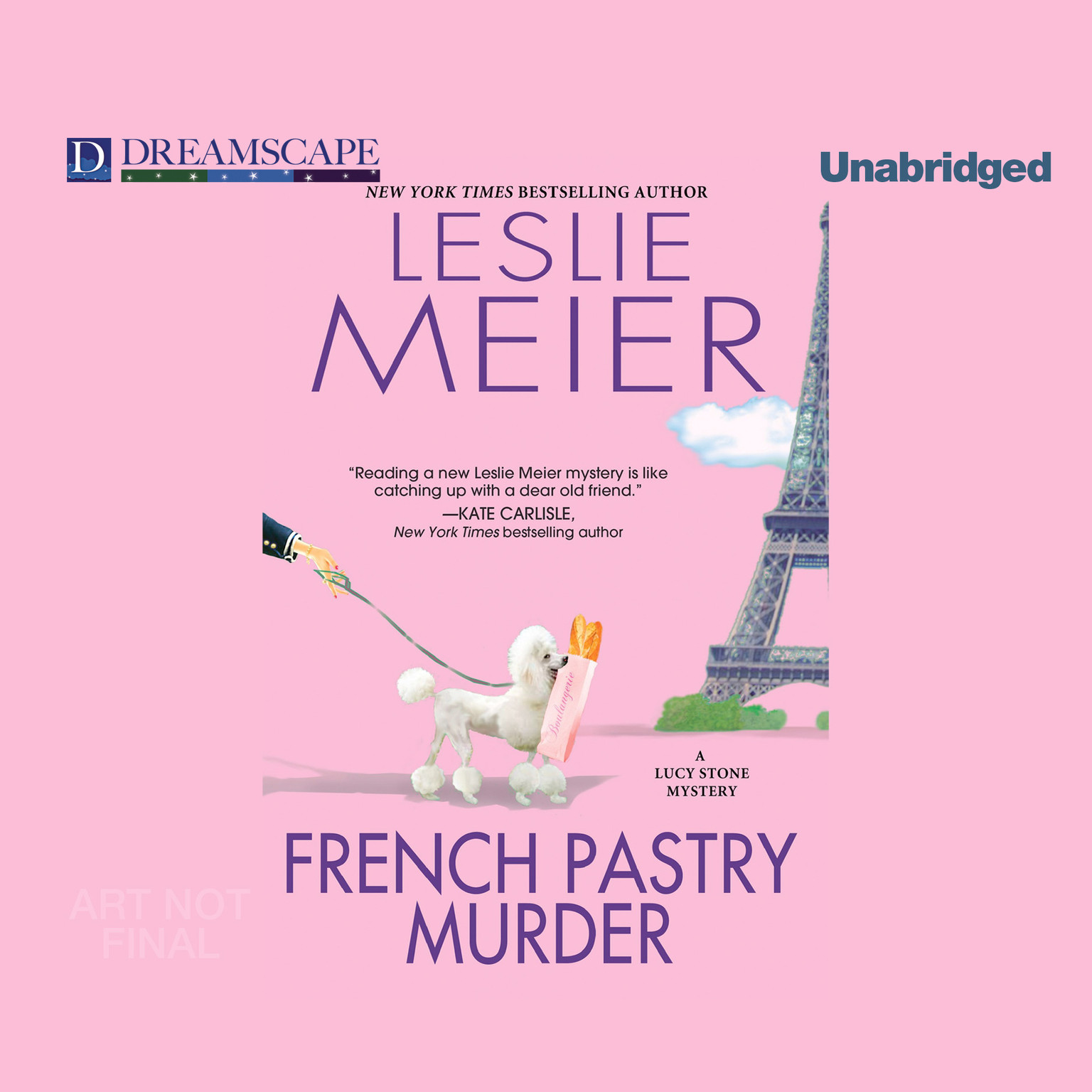 Printable French Pastry Murder: A Lucy Stone Mystery Audiobook Cover Art