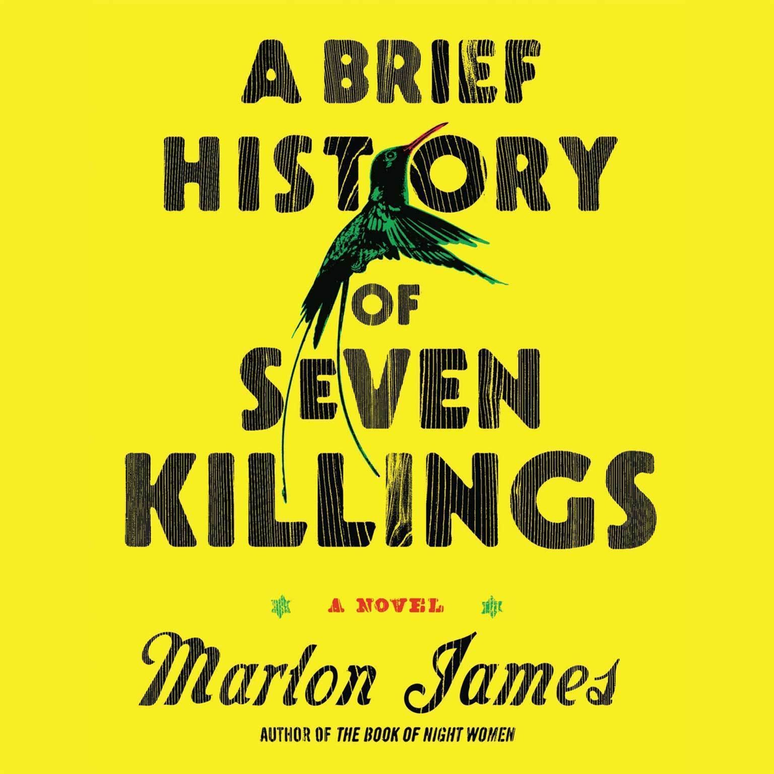 Printable A Brief History of Seven Killings Audiobook Cover Art