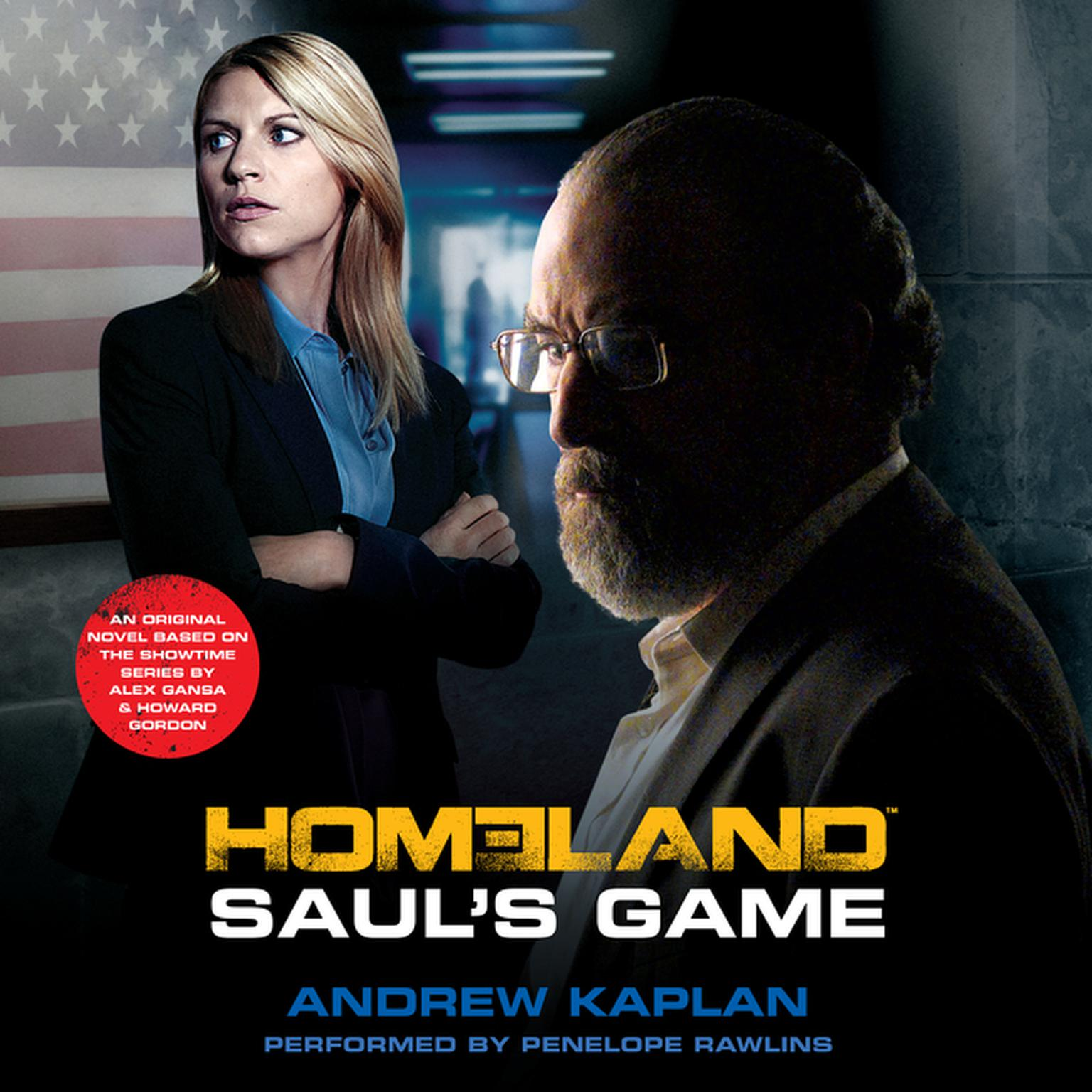 Printable Saul's Game Audiobook Cover Art