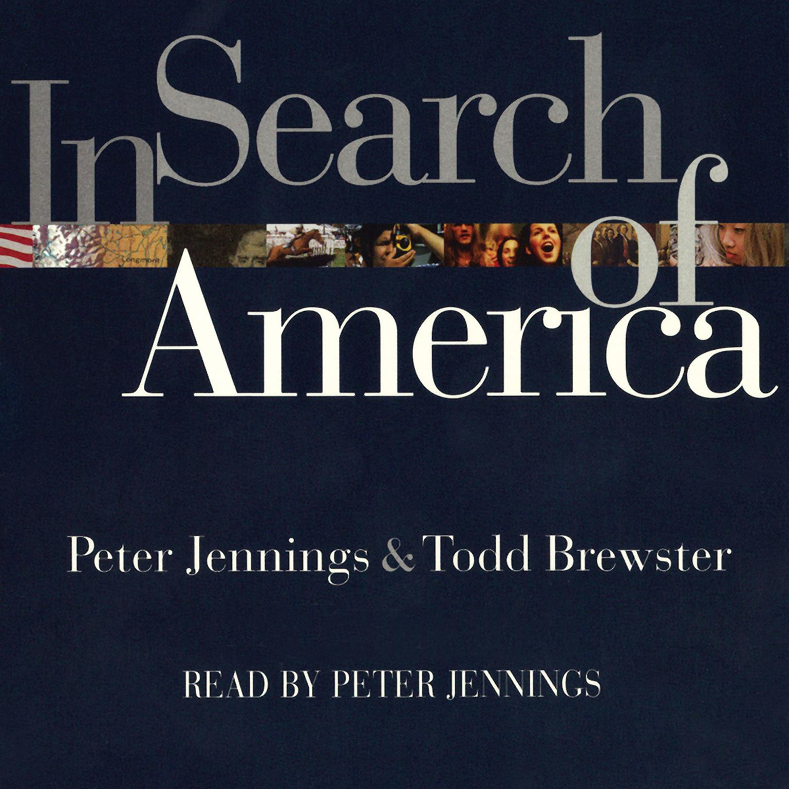 Printable In Search of America Audiobook Cover Art