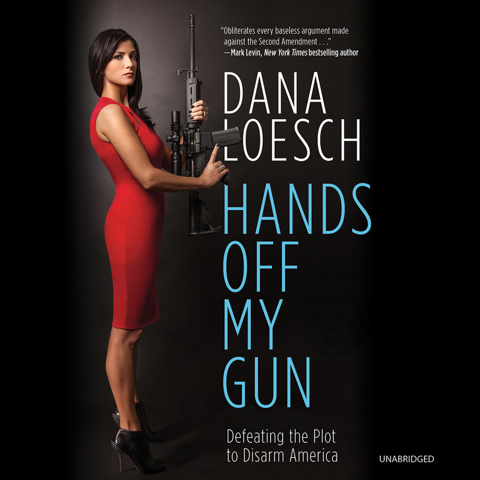 Printable Hands off My Gun: Defeating the Plot to Disarm America Audiobook Cover Art