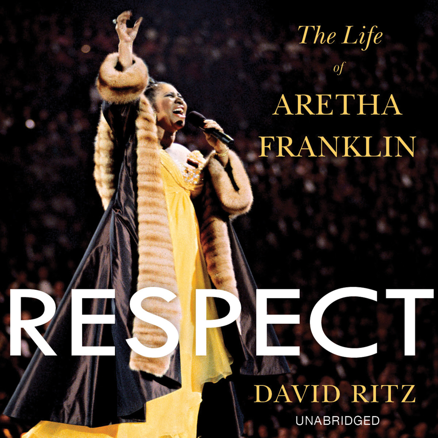Printable Respect: The Life of Aretha Franklin Audiobook Cover Art