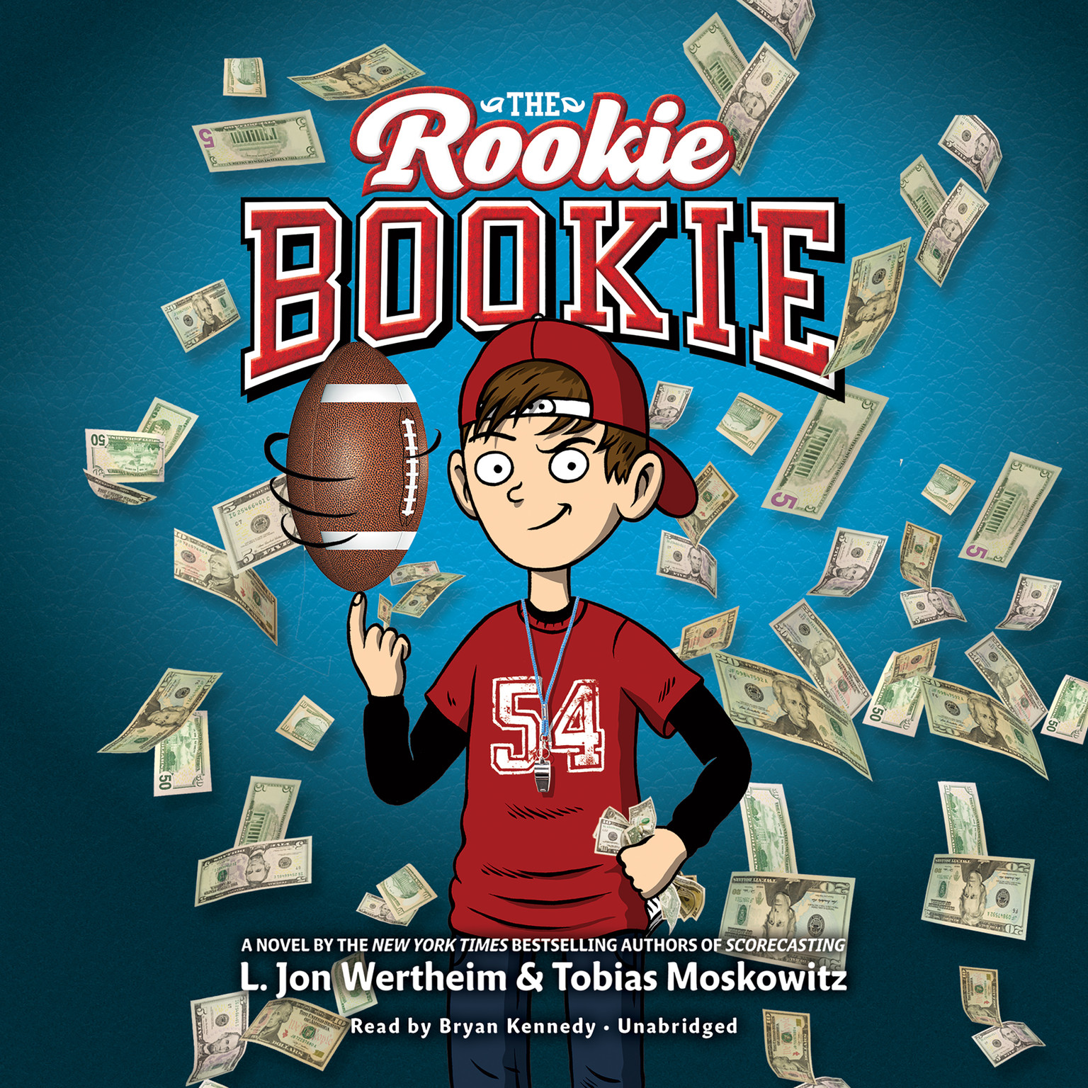 Printable The Rookie Bookie Audiobook Cover Art