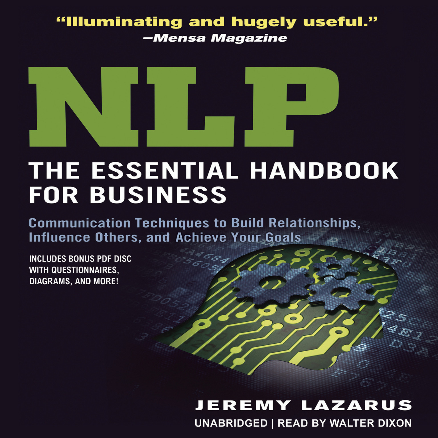Printable NLP: The Essential Handbook for Business: Communication Techniques to Build Relationships, Influence Others, and Achieve Your Goals Audiobook Cover Art