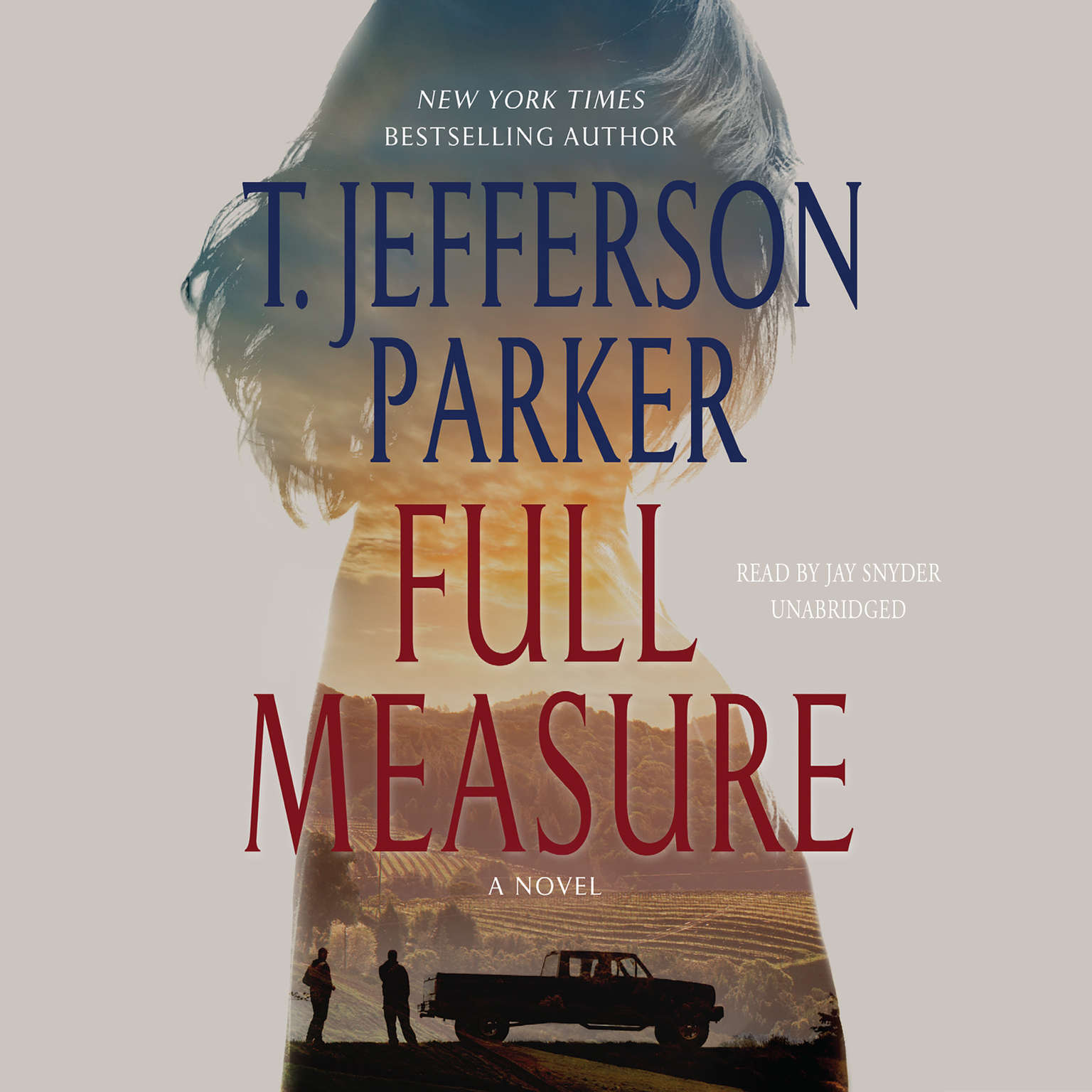 Printable Full Measure: A Novel Audiobook Cover Art
