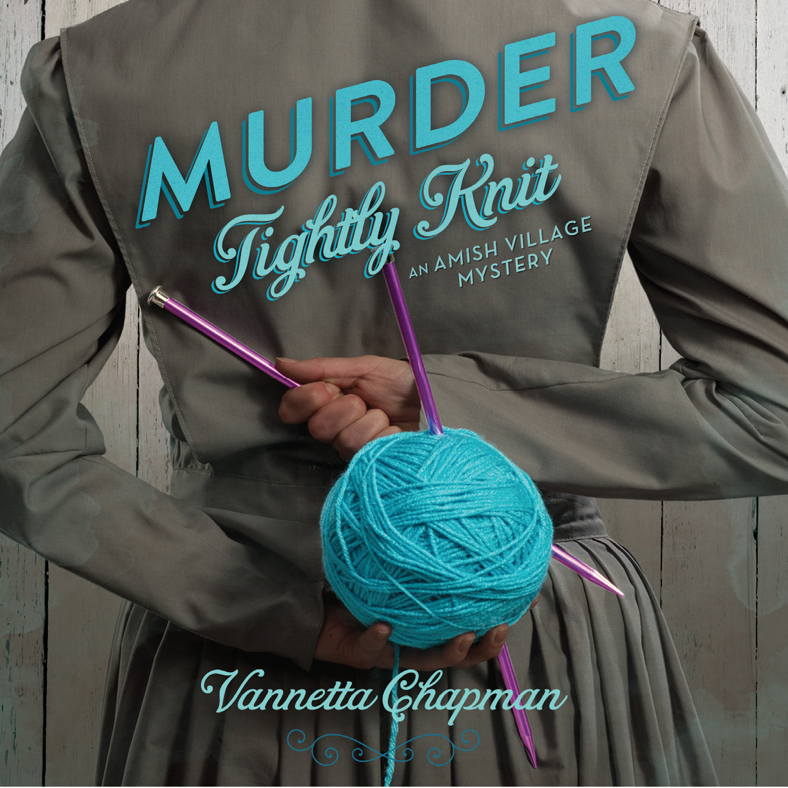 Printable Murder Tightly Knit: An Amish Village Mystery Audiobook Cover Art