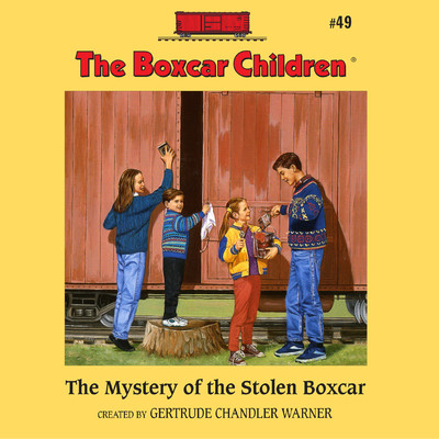 The Mystery of the Stolen Boxcar Audiobook, by Gertrude Chandler Warner
